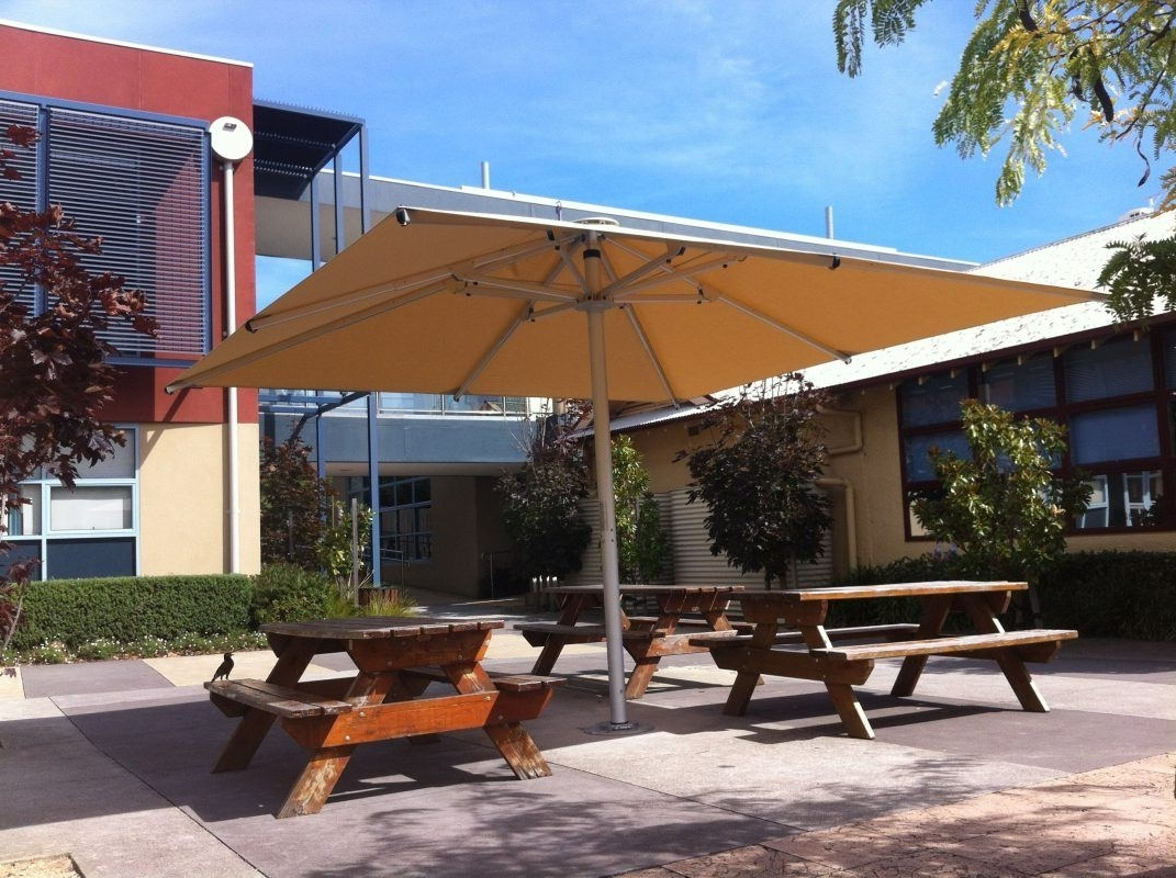 Latest Large Outdoor Umbrellas And Shades – Review Gold Coast (View 7 of 20)