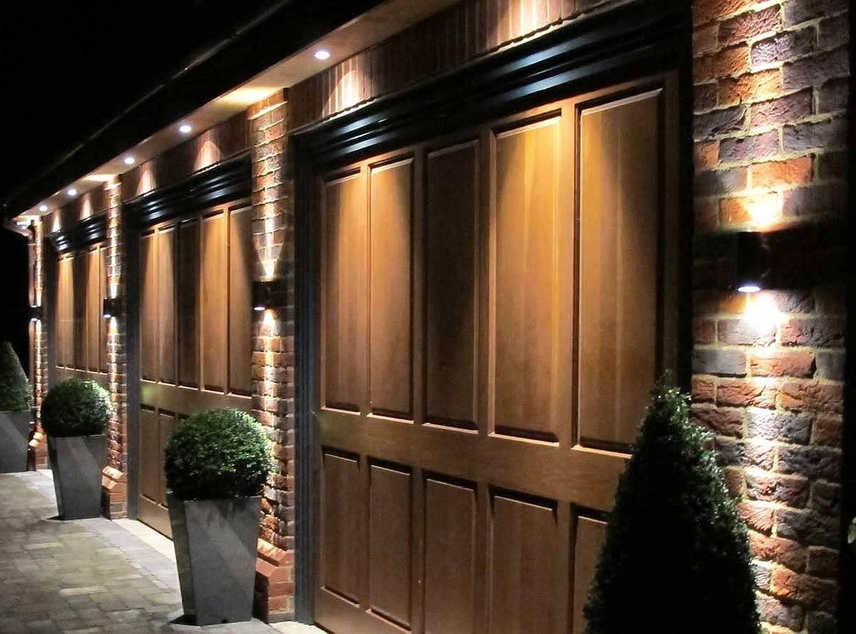 Latest Outdoor Door Lanterns Within Garage Outdoor Lighting Ideas Oc – Garage Door Repairs And (View 16 of 20)