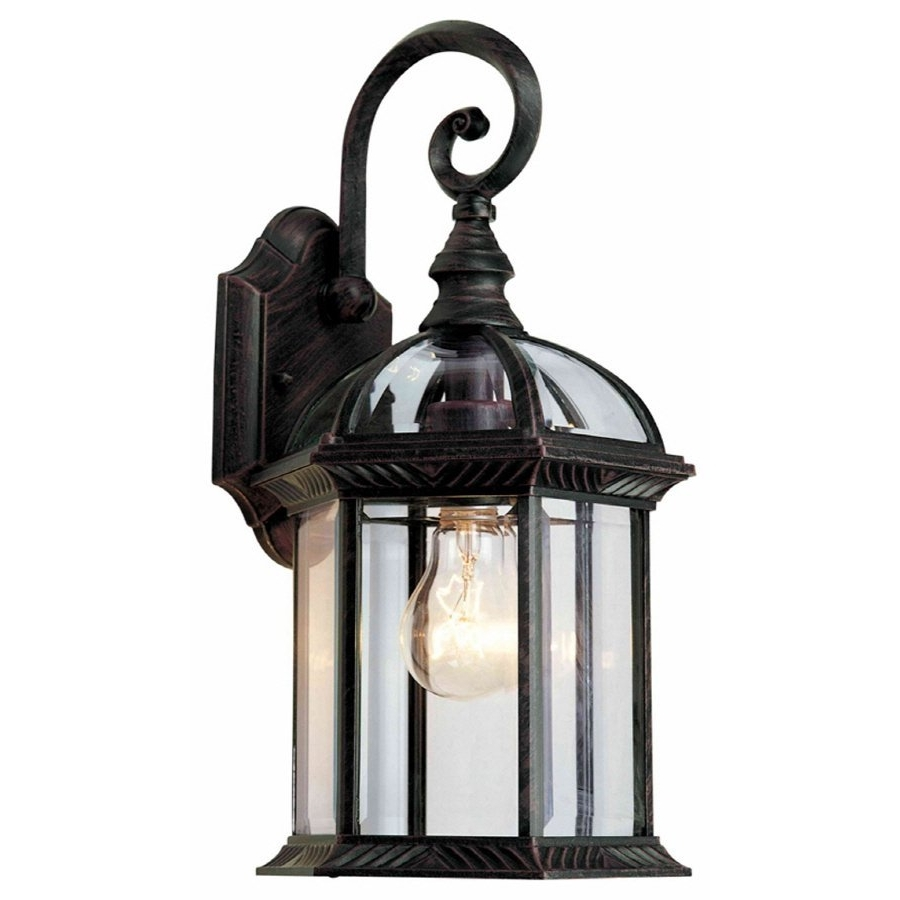 Latest Outdoor Lanterns At Lowes Inside Portfolio 15 1/2 In Outdoor Wall Mounted Light (View 6 of 20)