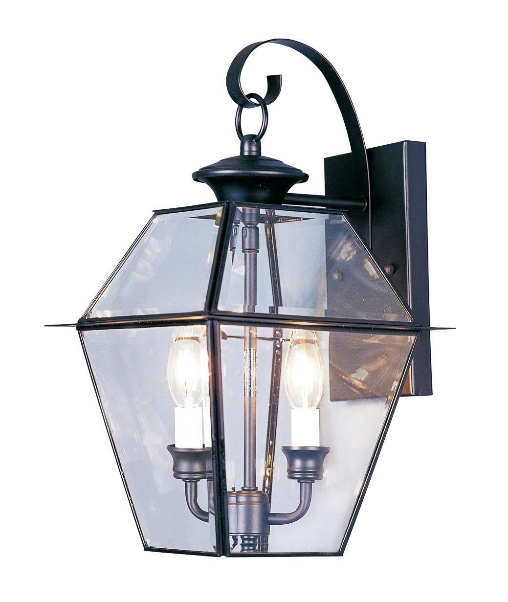 Latest Outdoor Lanterns Lights Regarding Baldwin Brass Outdoor Lighting Bridgewater Solid Exterior Wall (Gallery 10 of 20)