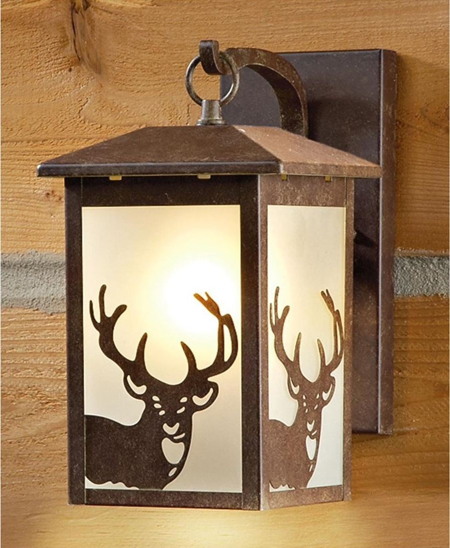 Latest Rustic Outdoor Electric Lanterns Within The Versatile Lantern Porch Lights — Bistrodre Porch And Landscape Ideas (Gallery 12 of 20)