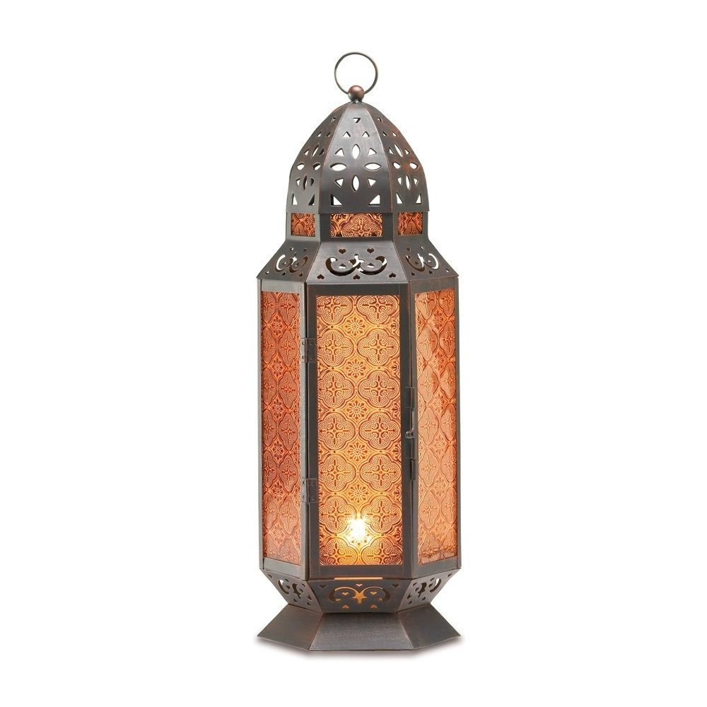 Latest Tall Outdoor Lanterns For Outdoor Moroccan Lantern, Lantern Table Lamp, Tall Decorative Candle (View 7 of 20)