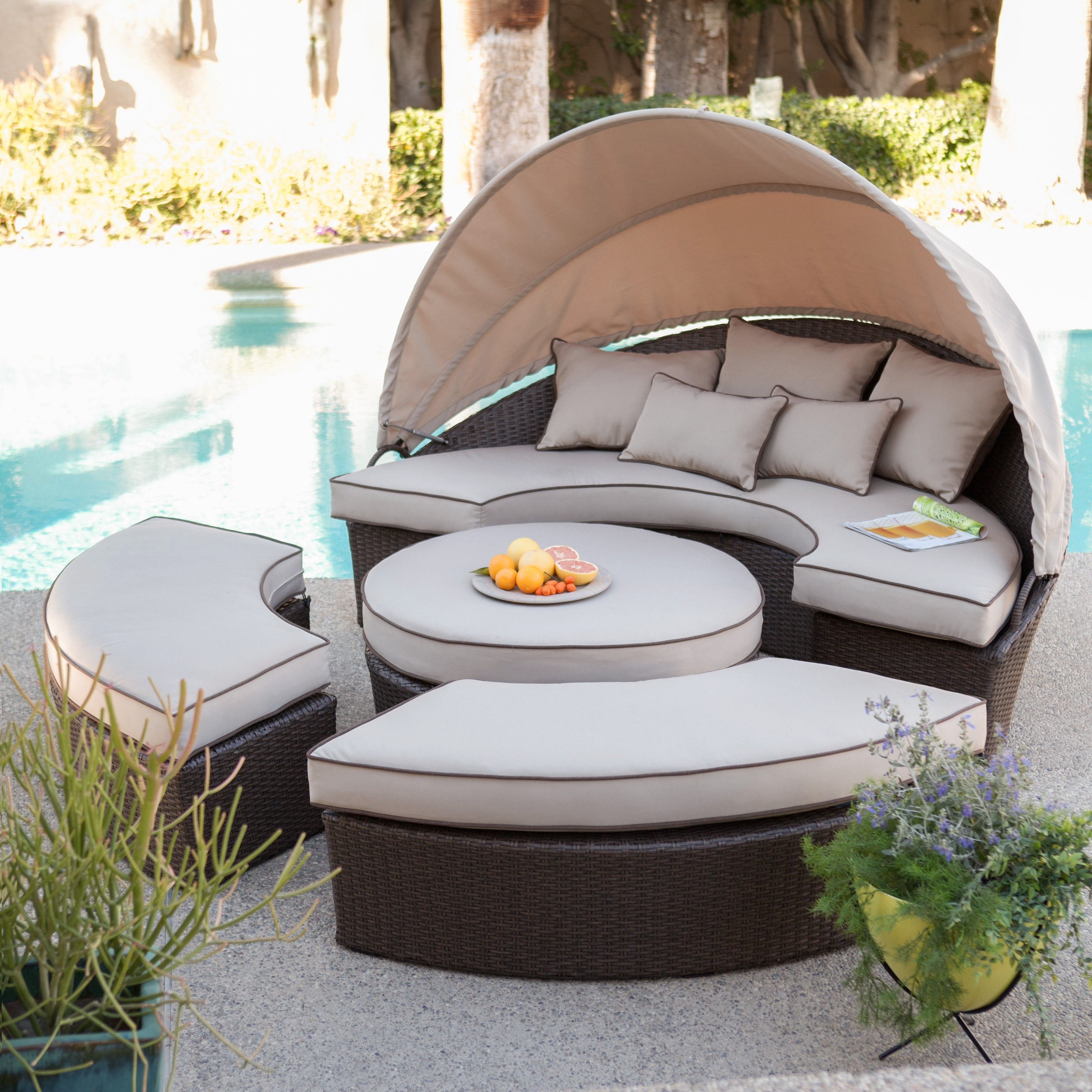 Latest Weatherproof Patio Furniture Intended For Upscale Patio Umbrellas (View 20 of 20)