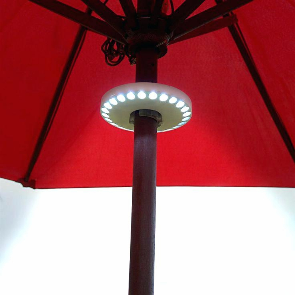 Led Light Outdoor Umbrella – Outdoor Lighting Ideas Regarding Famous Patio Umbrellas With Led Lights (View 5 of 20)