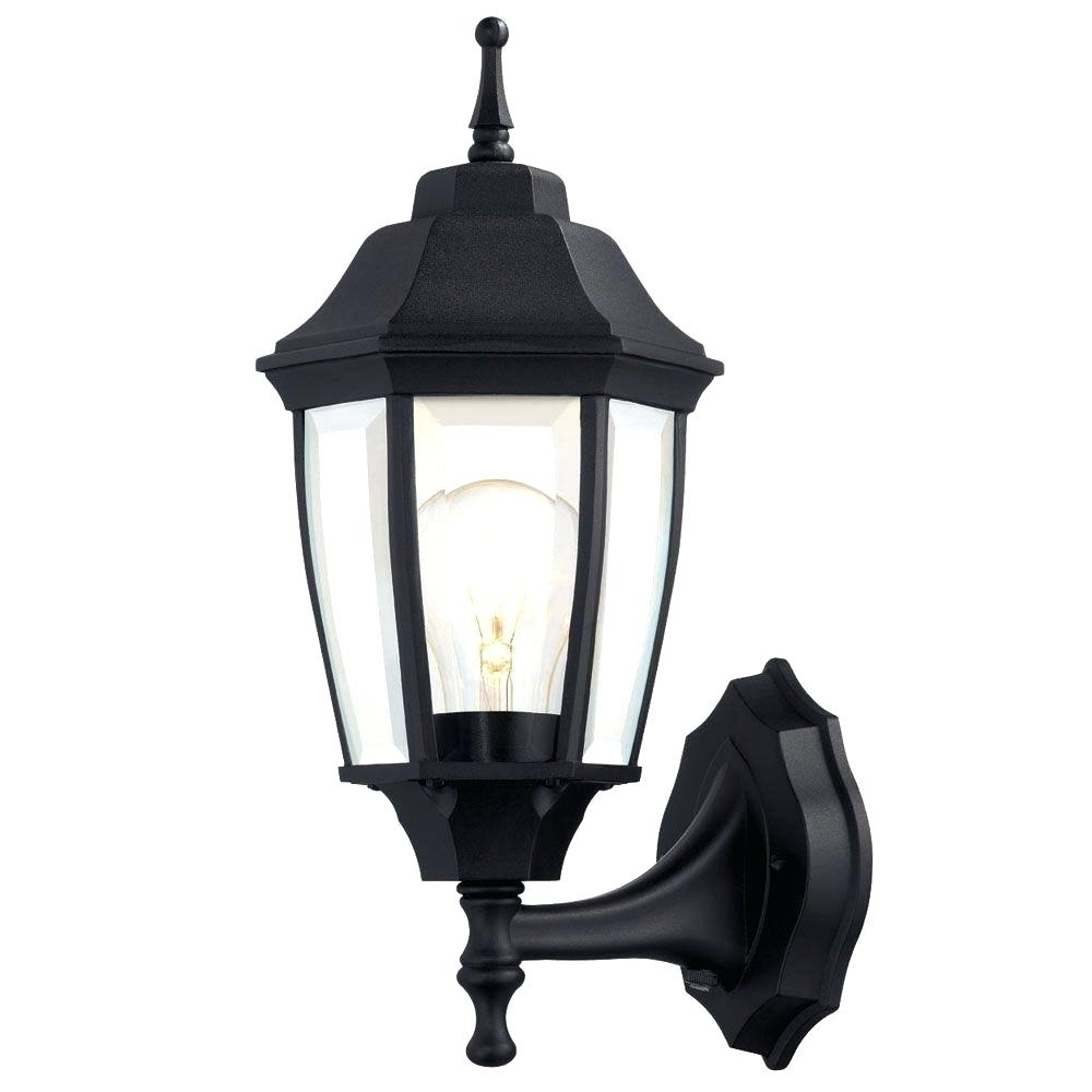 Light : Wall Mounted Outside Lights Exterior Light Fixtures Mount Regarding Most Recent Outdoor Lanterns With Photocell (View 12 of 20)