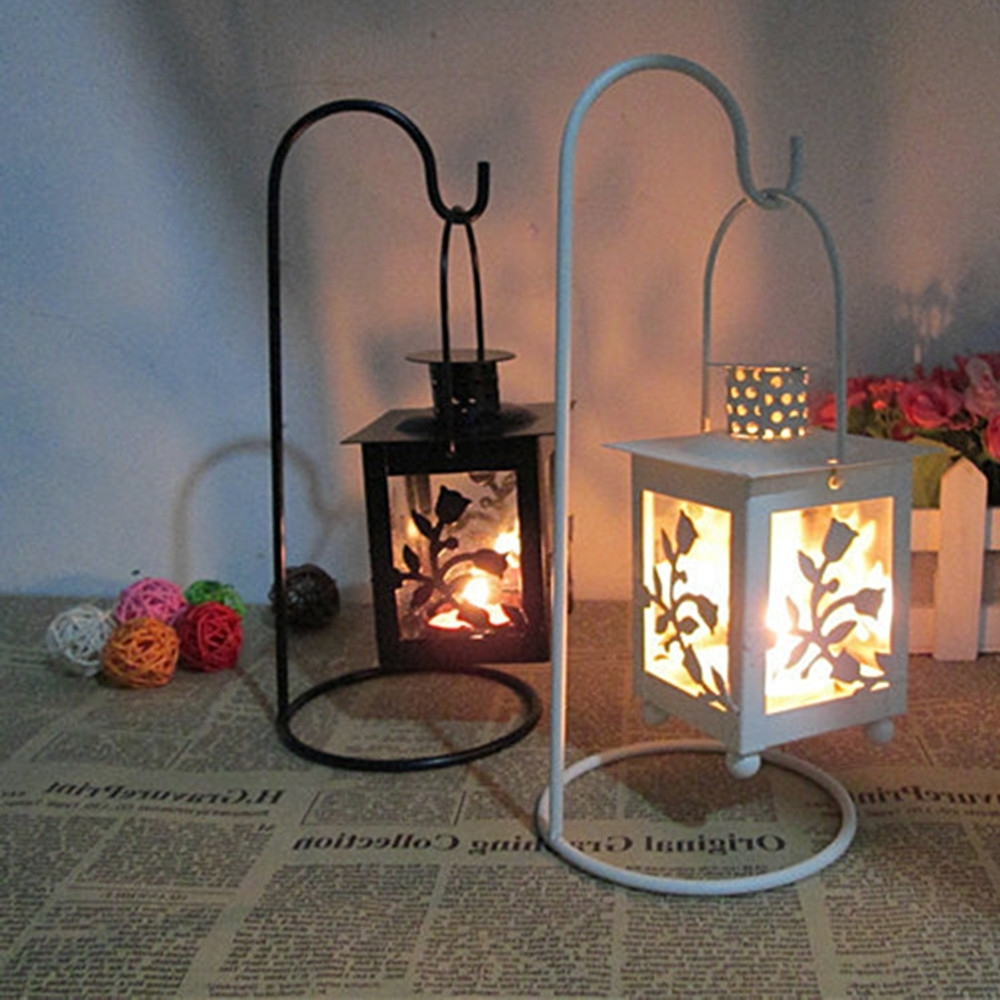 Lighting: Brighten Up Your Space With Stunning Candle Lanterns With Regard To Recent Outdoor Mosaic Lanterns (View 7 of 20)