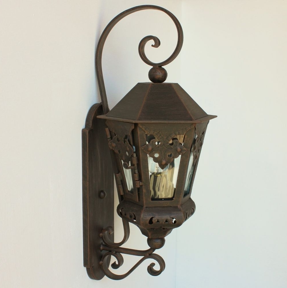 Lights Of Tuscany Spanish/mexican Style Hand Forged Wrought Iron With Well Liked Outdoor Mexican Lanterns (Gallery 3 of 20)