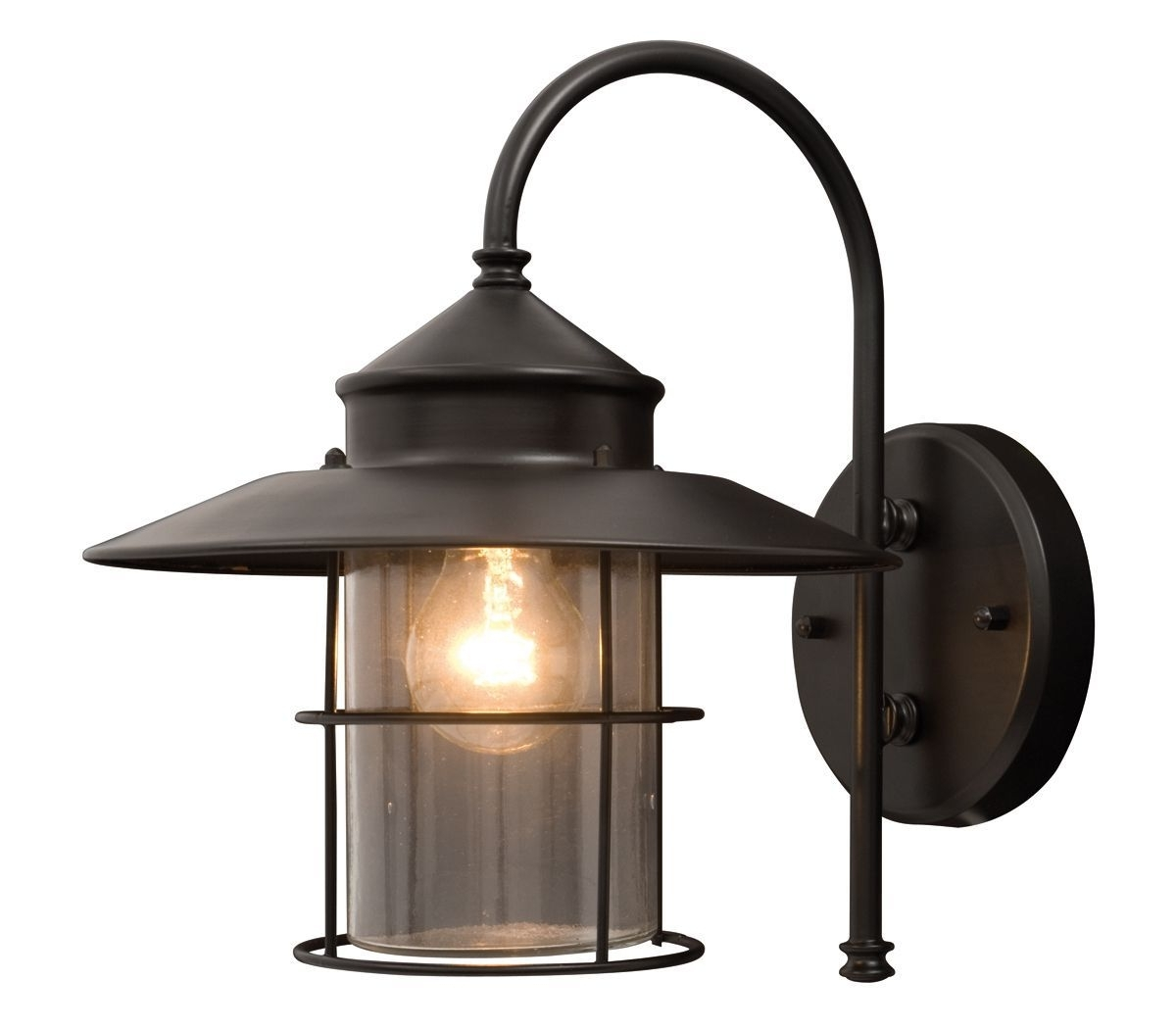 Lights, Walls Throughout Outdoor Mains Lanterns (View 8 of 20)