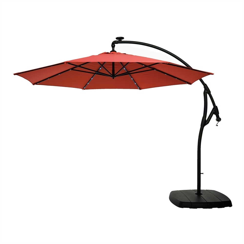 Lowe's Canada In Widely Used Striped Sunbrella Patio Umbrellas (View 6 of 20)