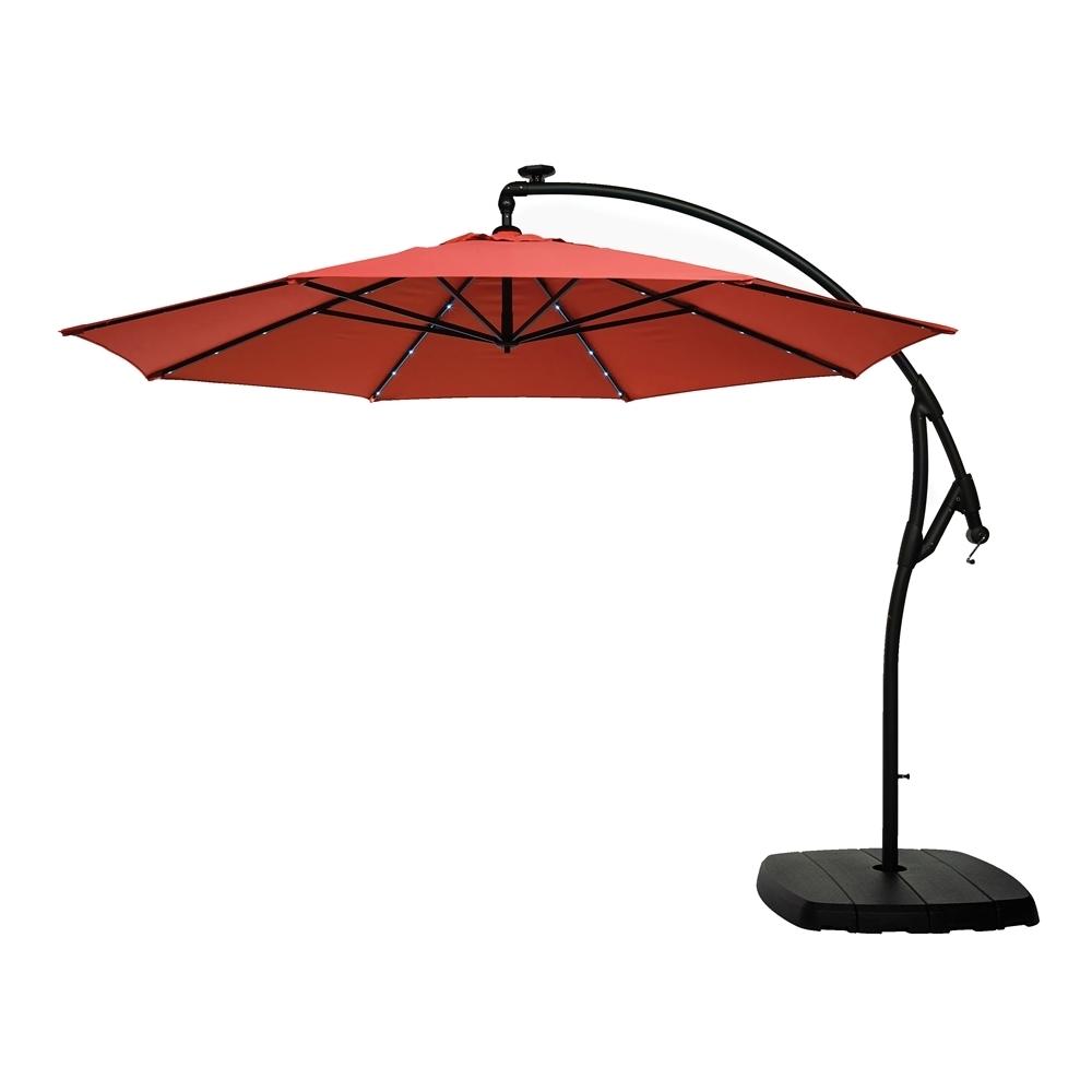 Lowe's Canada In Widely Used Striped Sunbrella Patio Umbrellas (View 6 of 20)