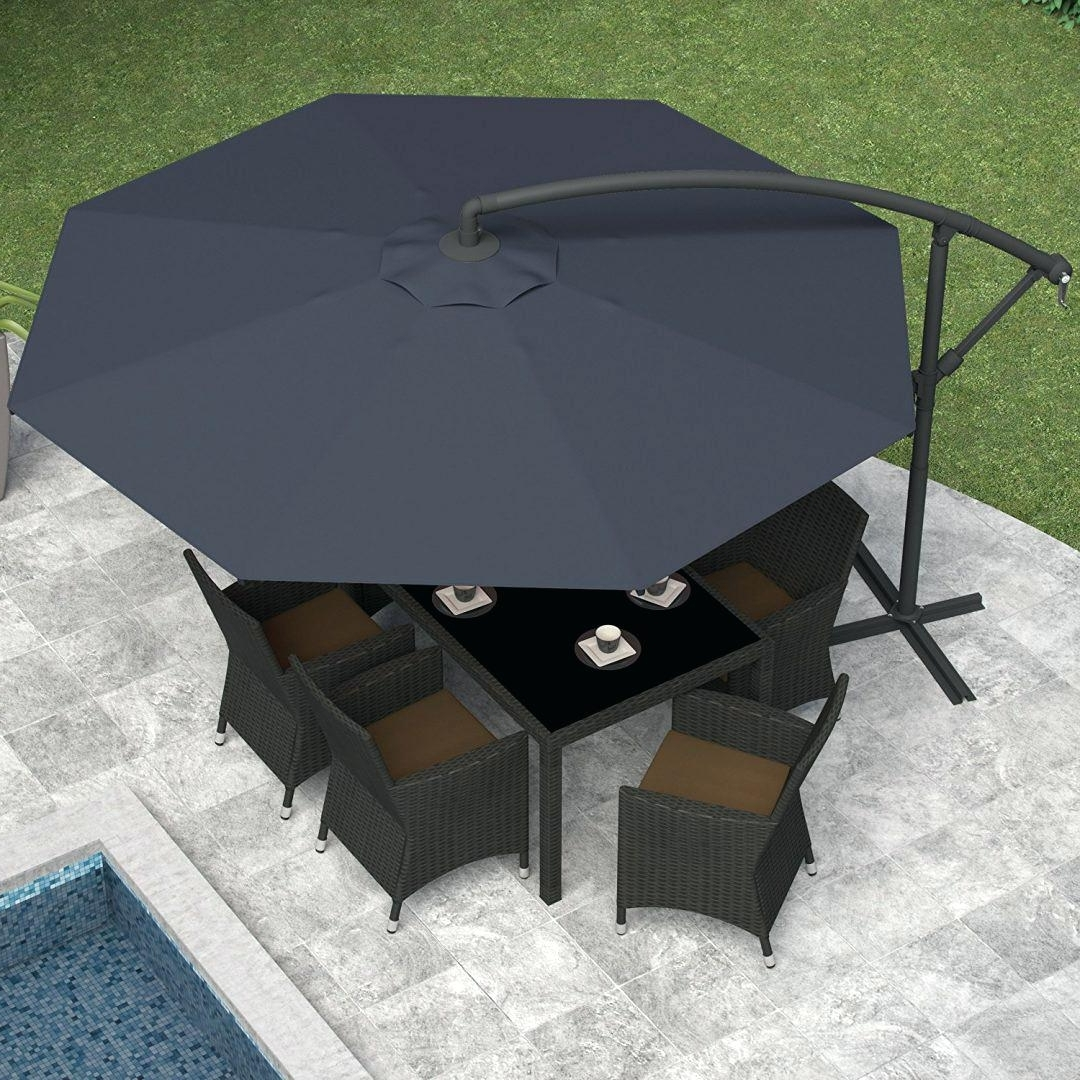Lowes Offset Patio Umbrellas Intended For Most Current Offset Patio Umbrella Lowes Mbrella Southern – Brittaandrebecca (View 6 of 20)