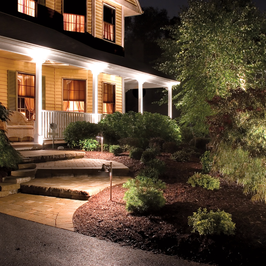Lowes Outdoor Lighting White — Awesome House Lighting : Gorgeous Within Famous Outdoor Landscape Lanterns (Gallery 4 of 20)