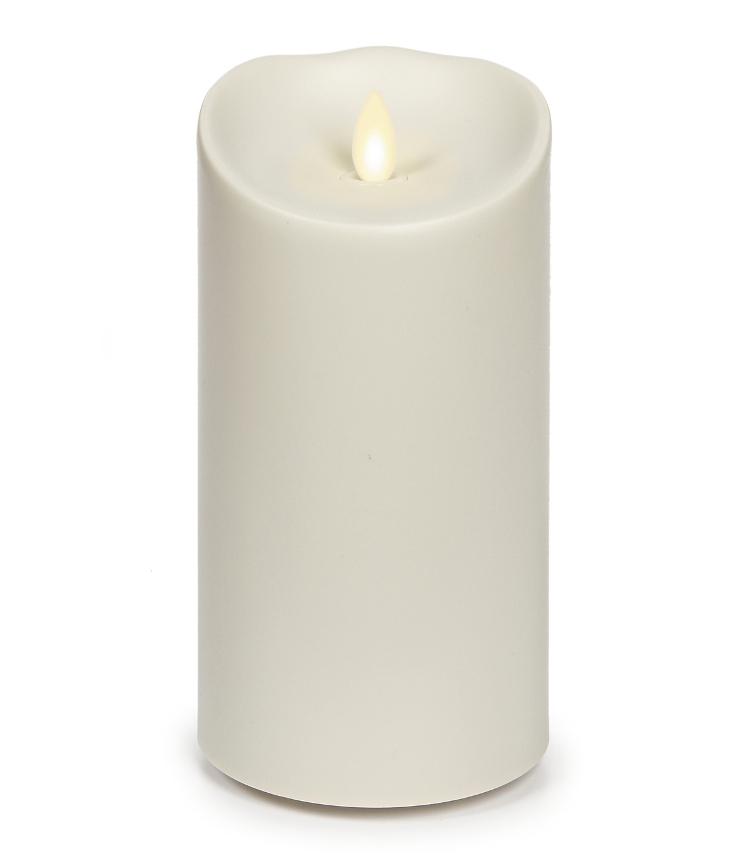"""Luminara Outdoor Pillar Candle, 7"""" High (View 15 of 20)"""
