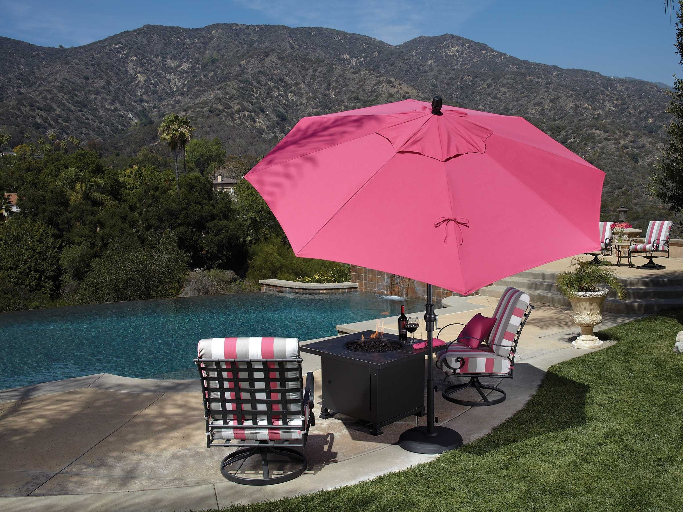 Luxedecor Within Pink Patio Umbrellas (View 9 of 20)