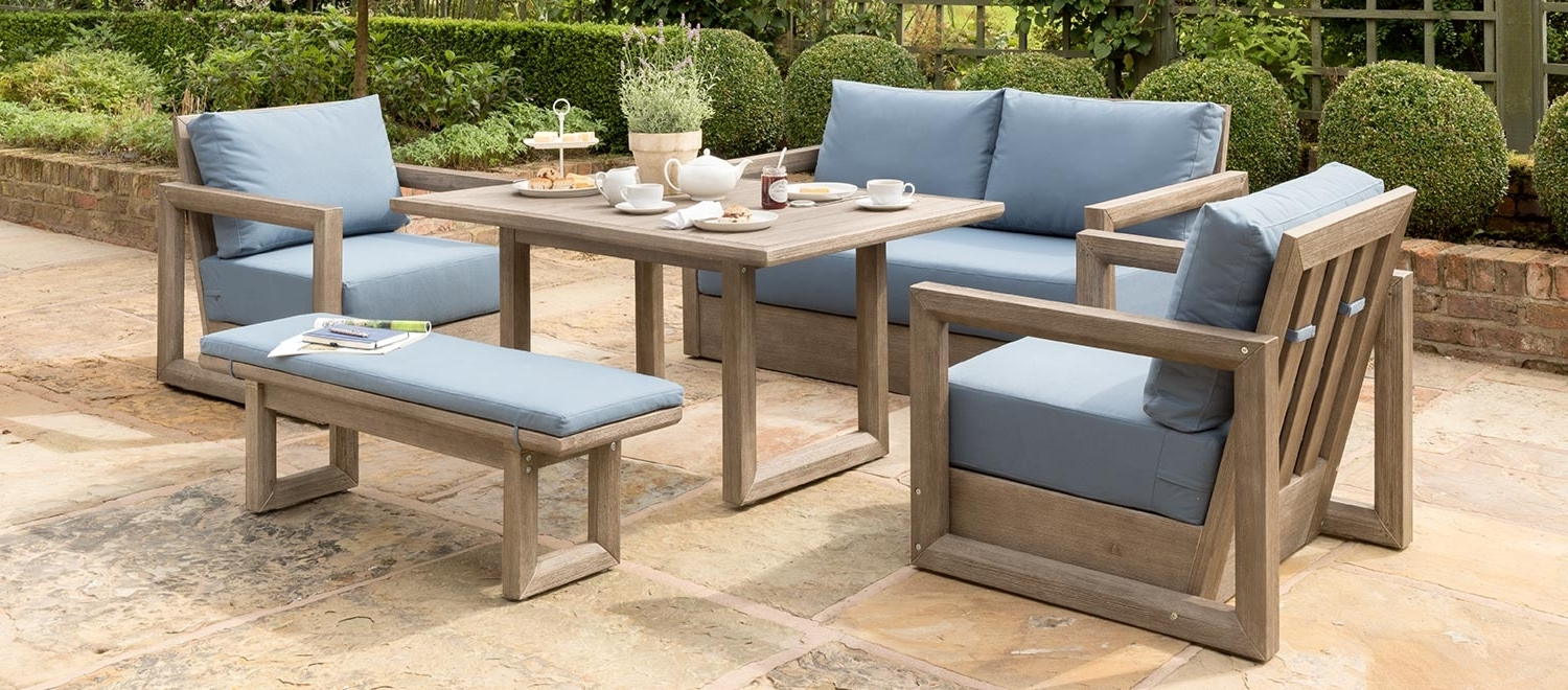 Luxury Wood Garden Furniture – Kettler Official Site (View 9 of 20)