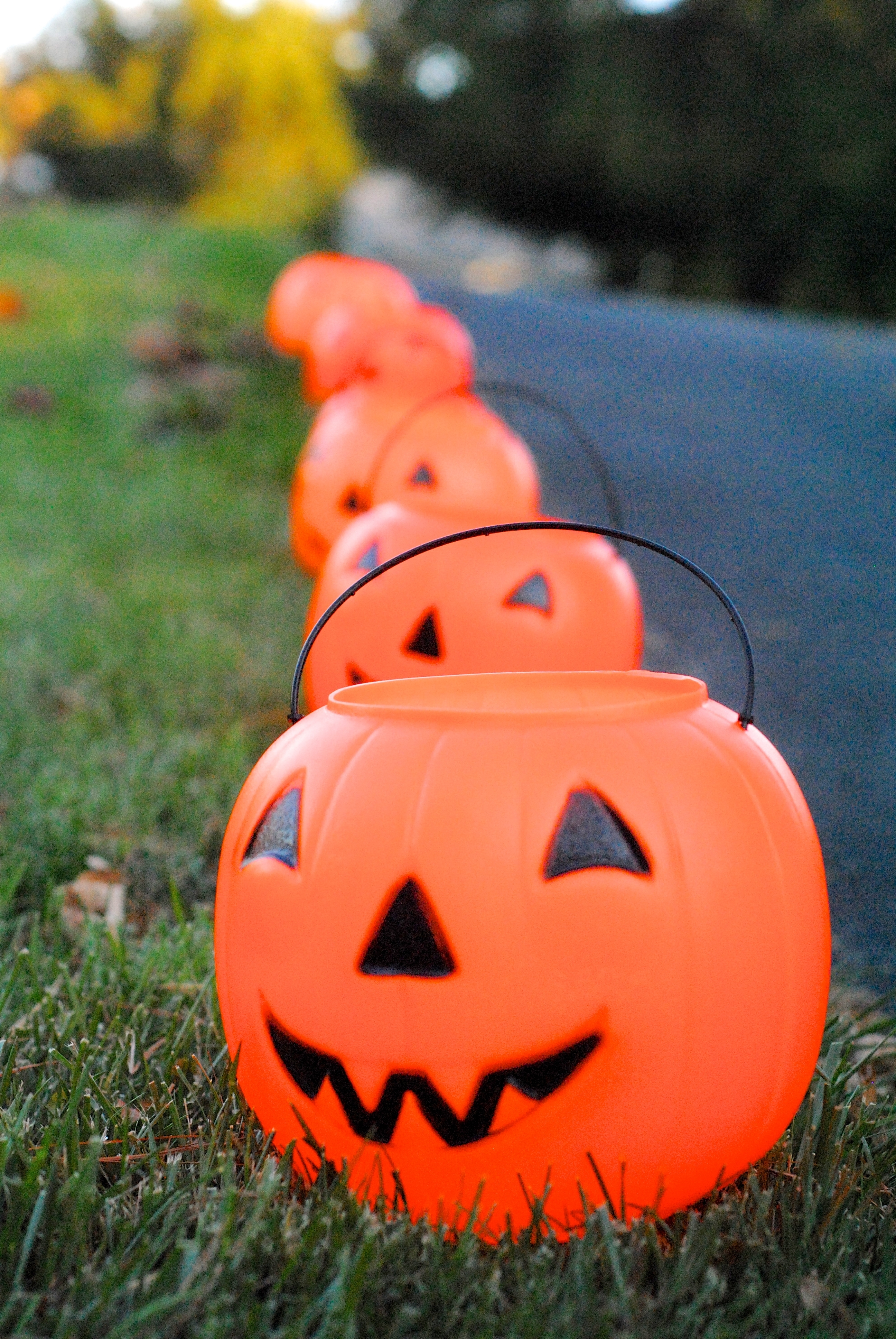 Featured Photo of Outdoor Pumpkin Lanterns