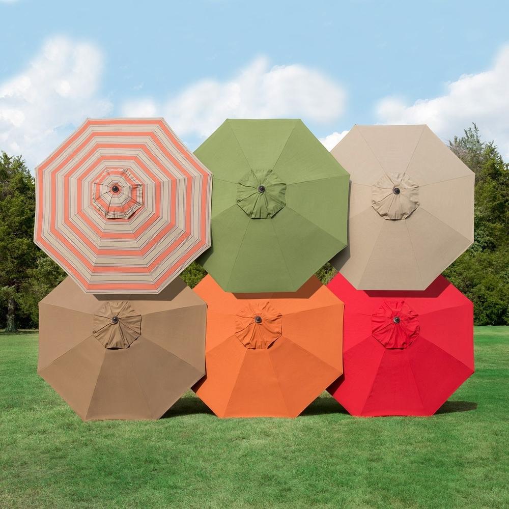 Market Umbrellas For Regarding Commercial Patio Umbrellas Sunbrella (View 11 of 20)