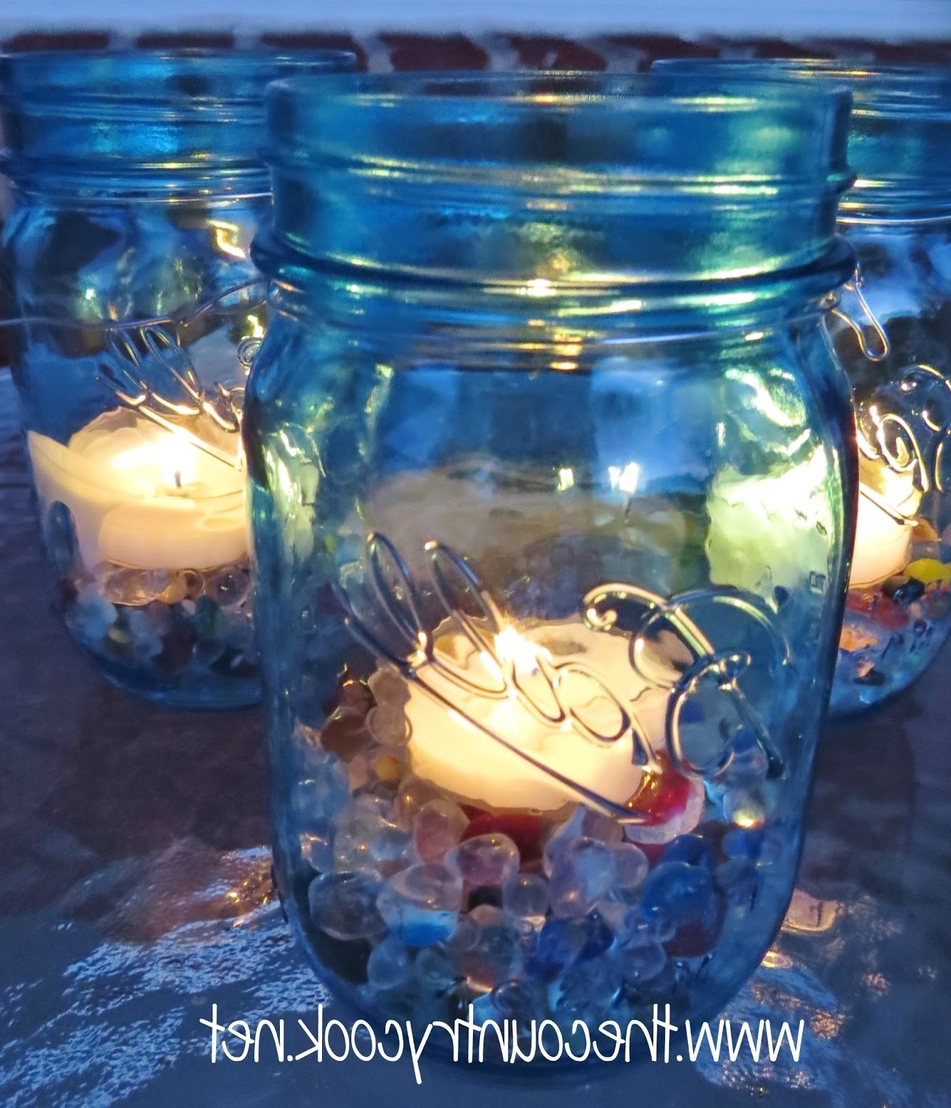 Mason Jar Lanterns – The Country Cook Within Trendy Outdoor Jar Lanterns (View 8 of 20)