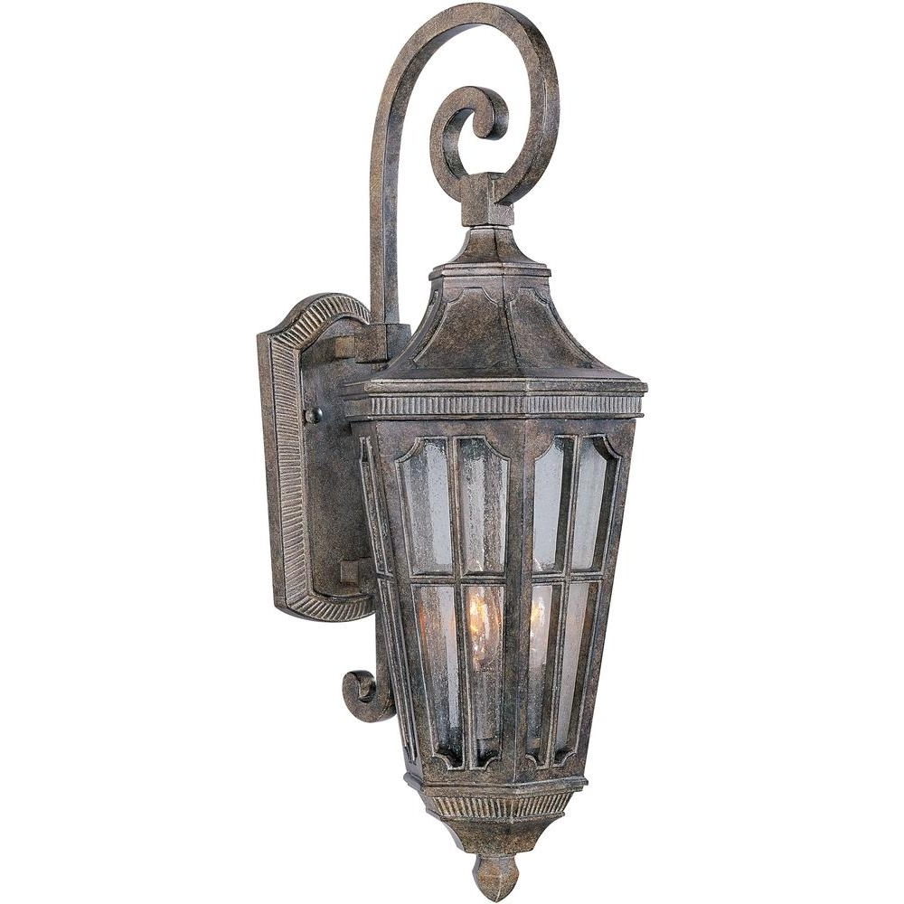 Maxim Lighting Beacon Hill Vx Outdoor Wall Mount 40153cdse – The Throughout Preferred Resin Outdoor Lanterns (View 13 of 20)