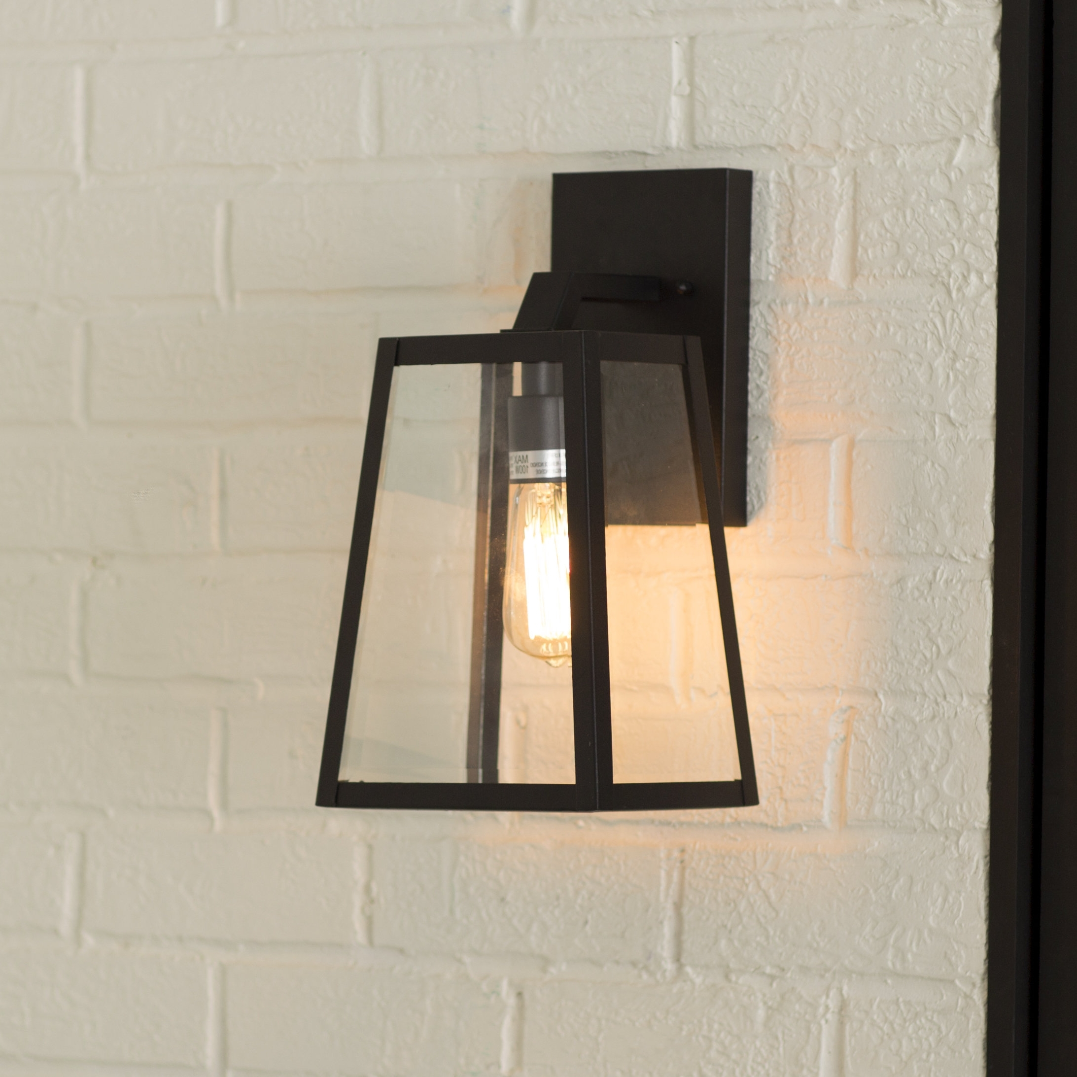 Mercury Row Brill Outdoor Wall Lantern & Reviews (View 8 of 20)