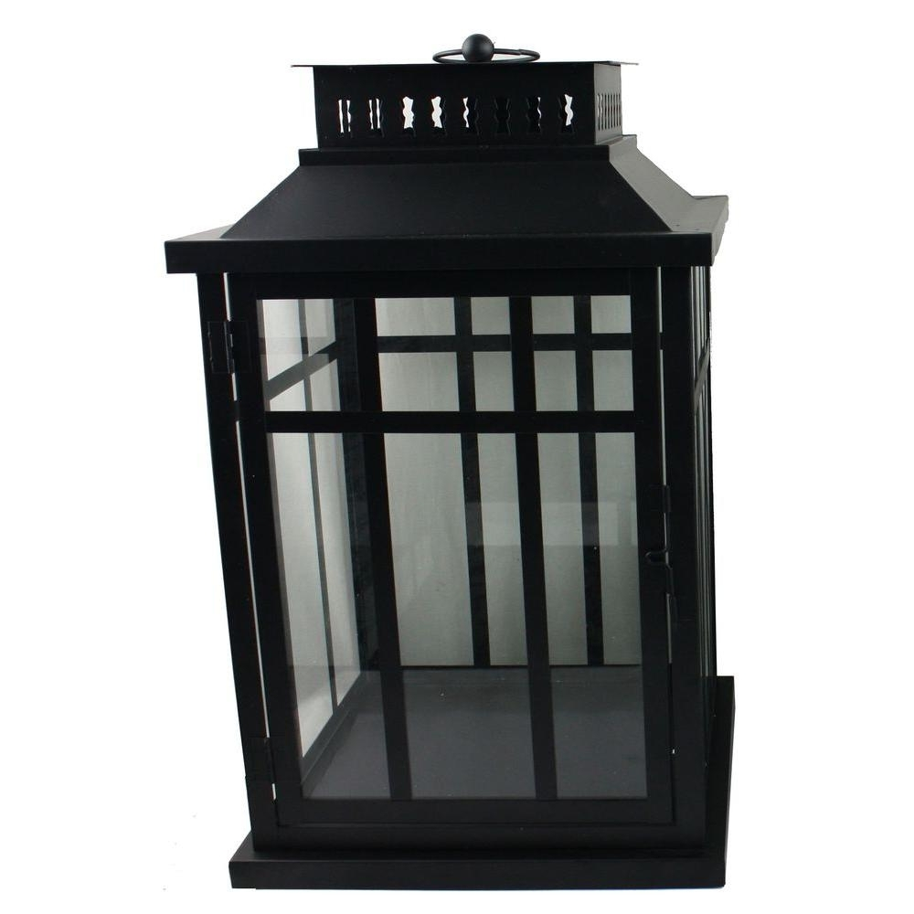 Metal Outdoor Lanterns With Best And Newest Moonrays 17 In (View 7 of 20)