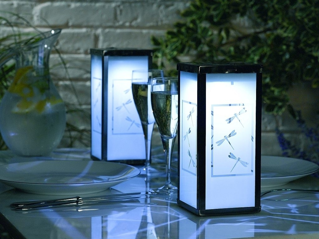 Modern Outdoor Lanterns Throughout Trendy 20 The Best Modern Outdoor And Garden Solar Lights (View 14 of 20)