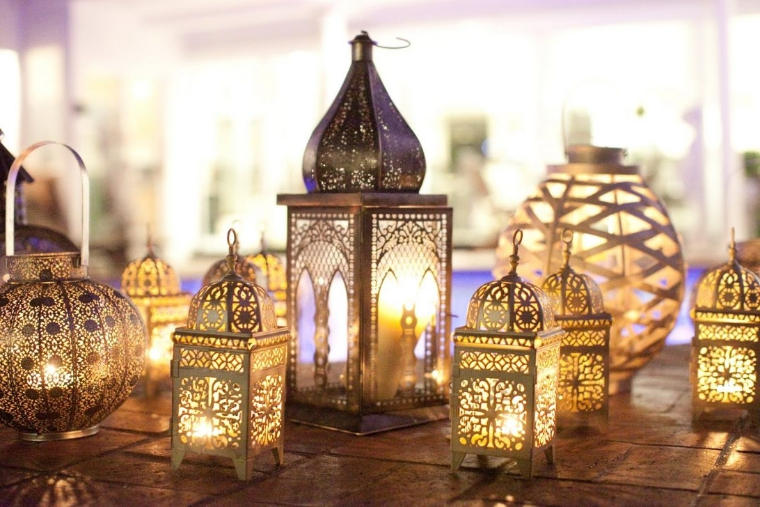 Moroccan Outdoor Electric Lanterns With Recent Hanging Lantern Indoor Outdoor Lights For Sale Led Landscape (View 5 of 20)