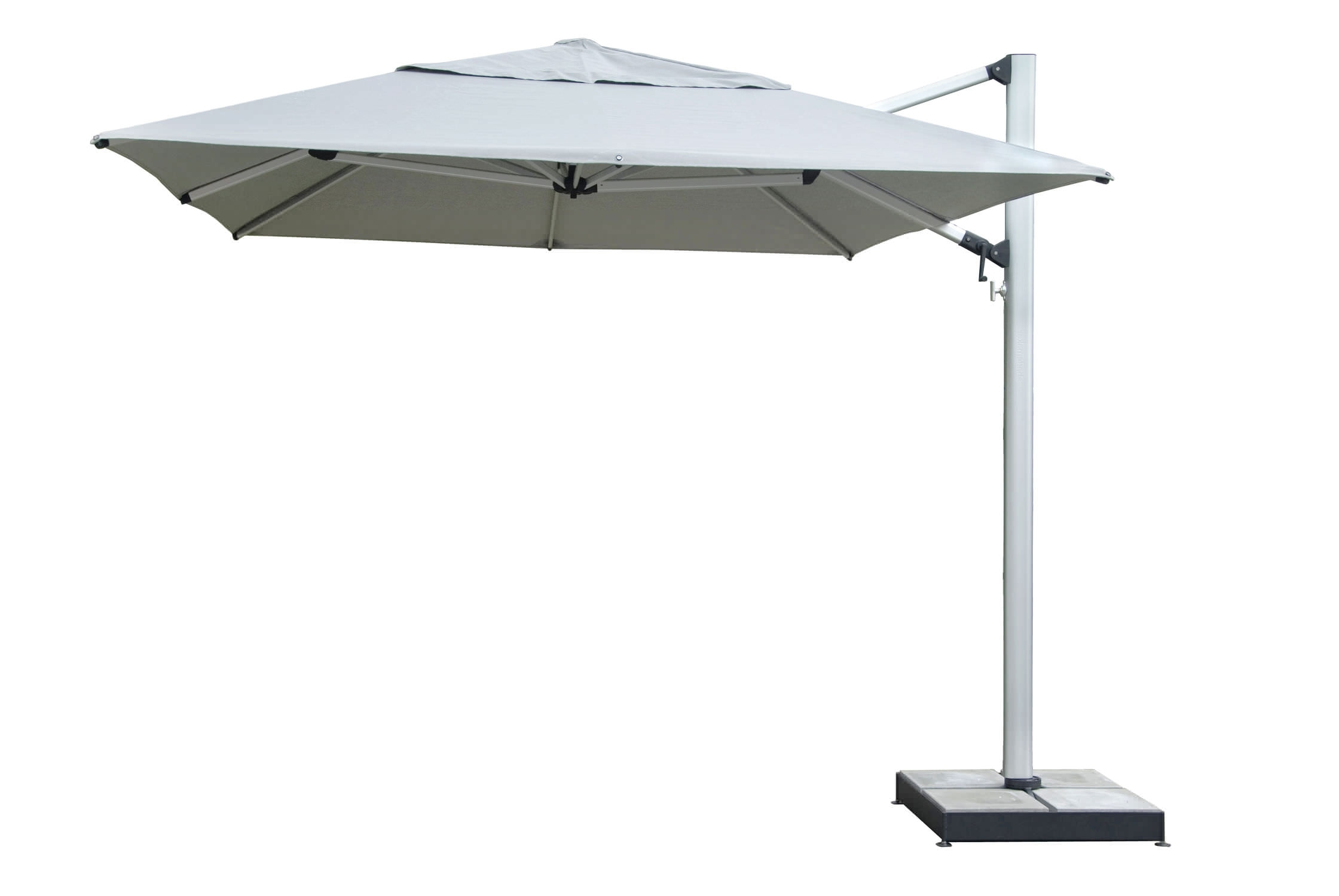 Most Current Furniture: Stainless Steel Patio Umbrella Patio Furniture And Inside White Patio Umbrellas (View 8 of 20)