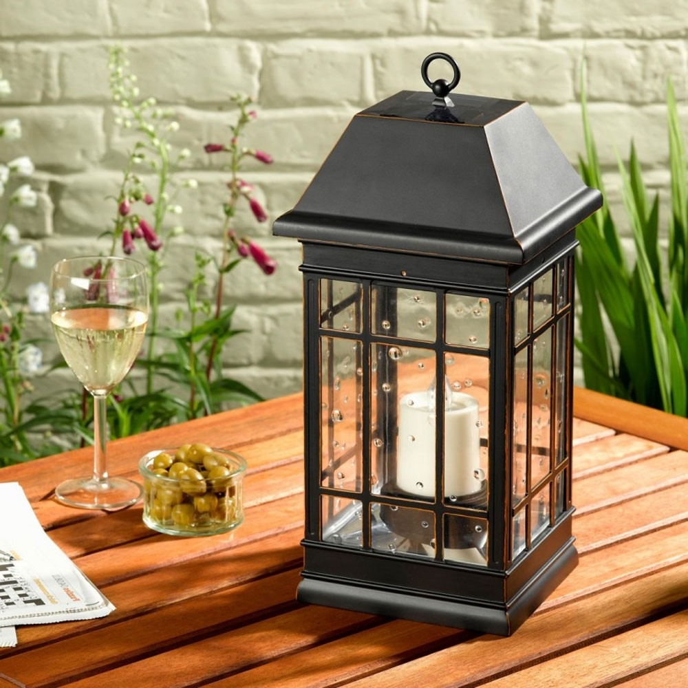 Most Current Outdoor Lanterns At Target For Home Decor: Appealing Solar Lanterns And Seville Lantern Powered (View 11 of 20)
