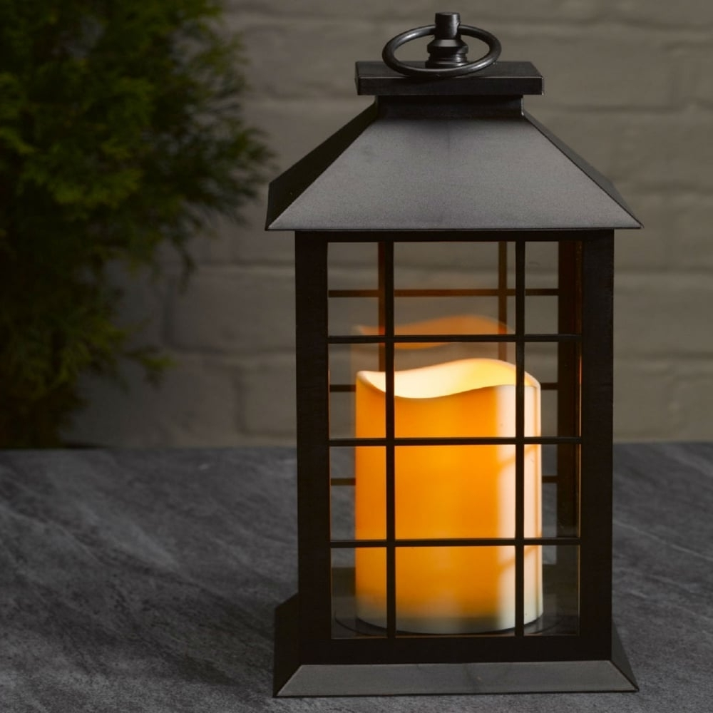 Most Current Outdoor Lanterns With Battery Operated Candles Intended For Smart Garden Window Battery Operated Outdoor Lantern (View 7 of 20)