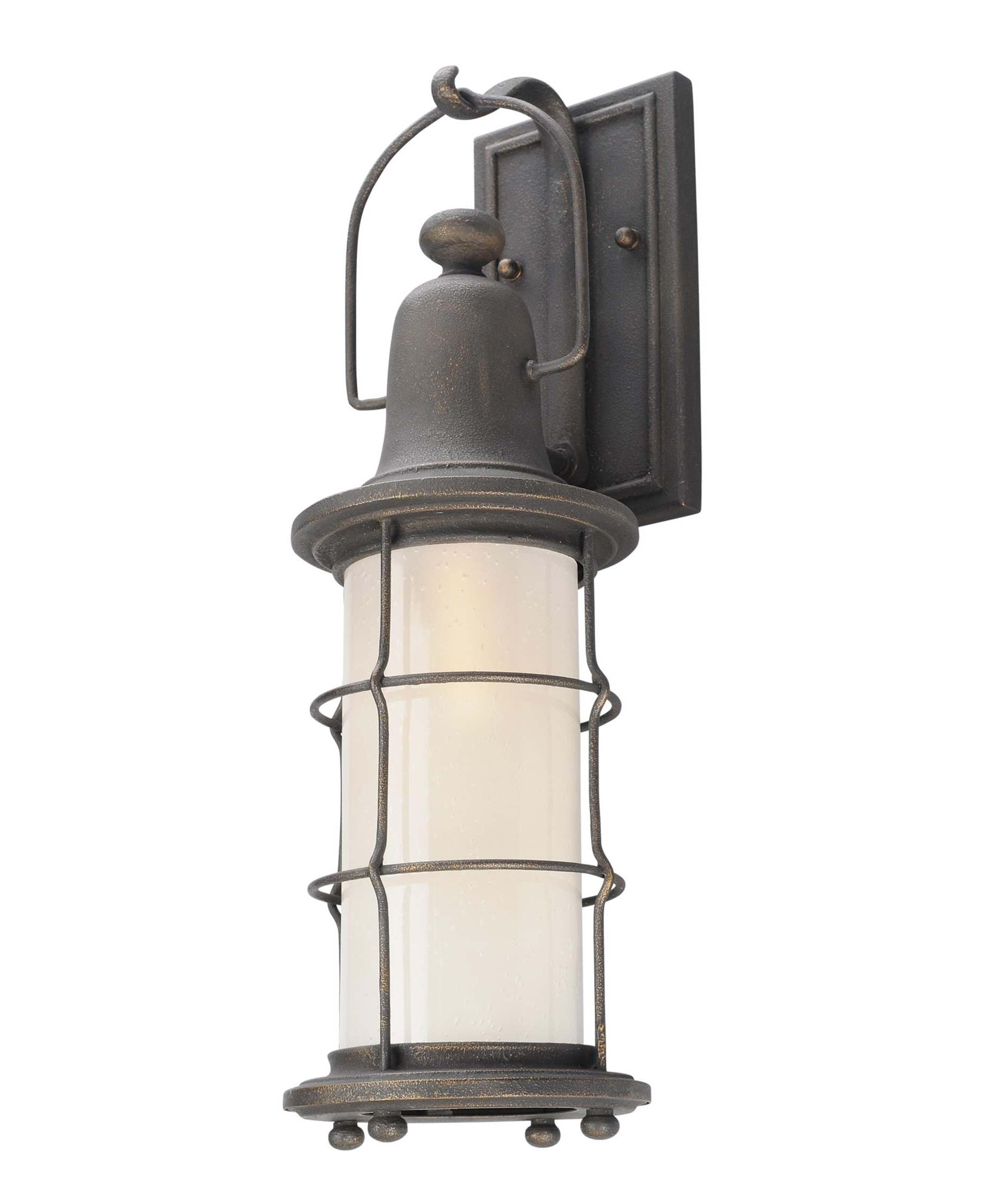 Most Current Outdoor Nautical Lanterns Intended For Troy Lighting B4441 Maritime 6 Inch Wide 1 Light Outdoor Wall Light (View 7 of 20)
