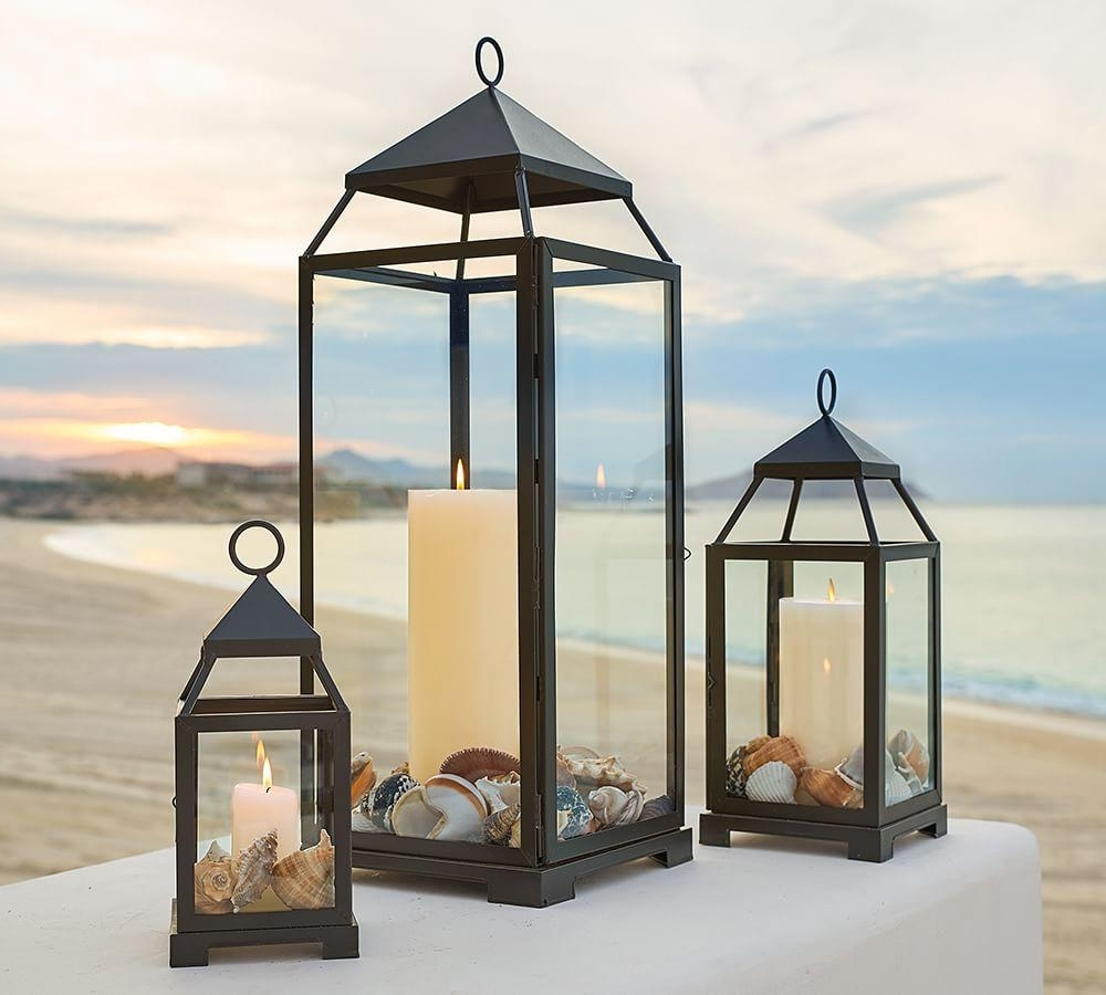 Most Current Outdoor Table Candle Lanterns – Home Design Ideas Pertaining To Outdoor Lanterns At Pottery Barn (View 18 of 20)