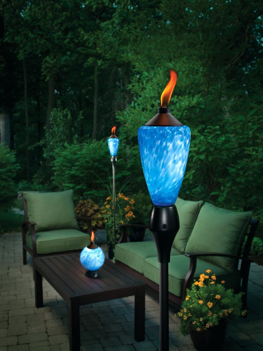 Most Current Outdoor Tiki Lanterns Inside Patio Ideas ~ Torch Lights For Patio Pineapple Tiki Torch Wall (View 8 of 20)