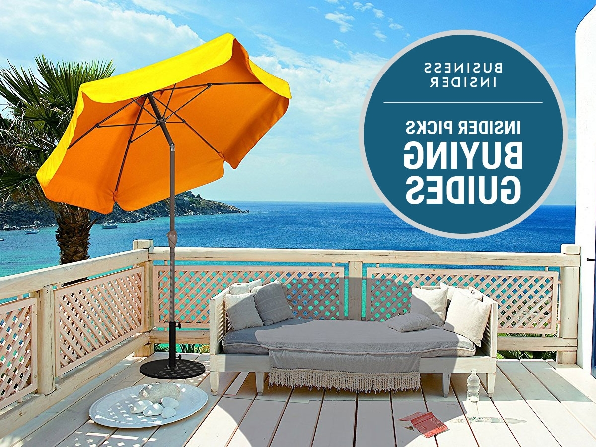 Most Current Patio Umbrellas For High Wind Areas Throughout The Best Patio Umbrella You Can Buy – Business Insider (View 19 of 20)