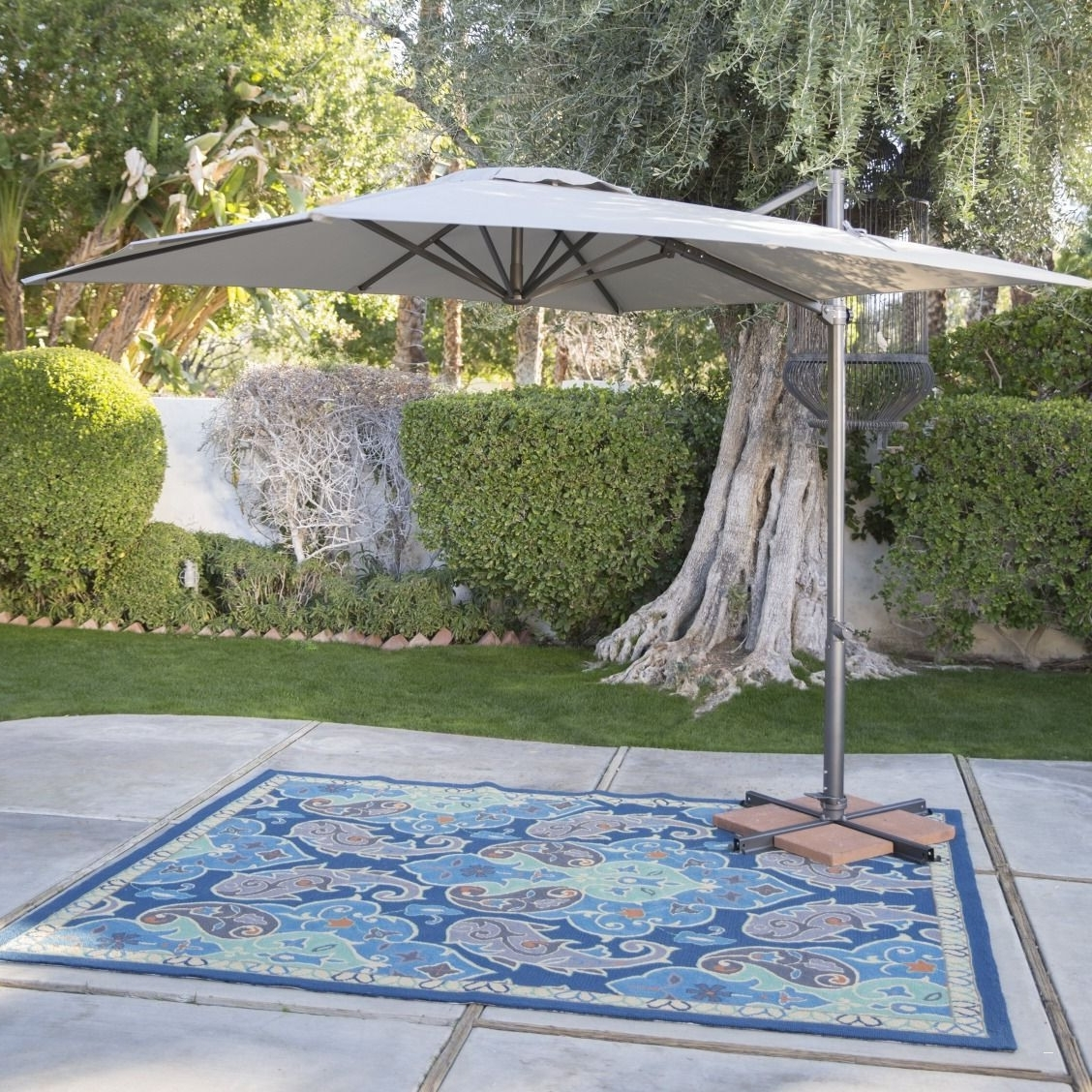 Most Current Patio Umbrellas With Netting With Patio Umbrella With Netting – Unique Black 11 Ft Fset Patio Umbrella (View 5 of 20)