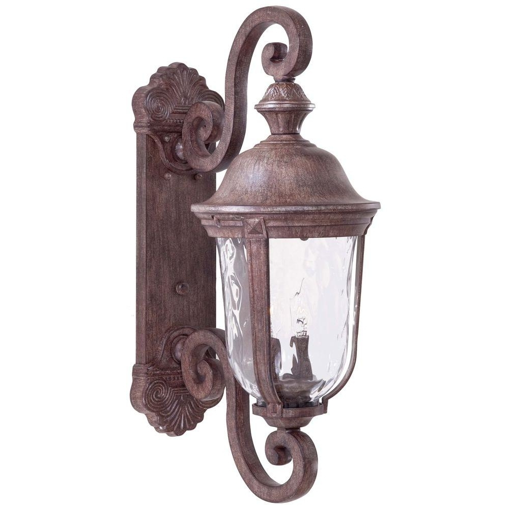 Most Current Vintage Outdoor Lanterns Throughout The Great Outdoorsminka Lavery Ardmore 2 Light Vintage Rust (View 4 of 20)