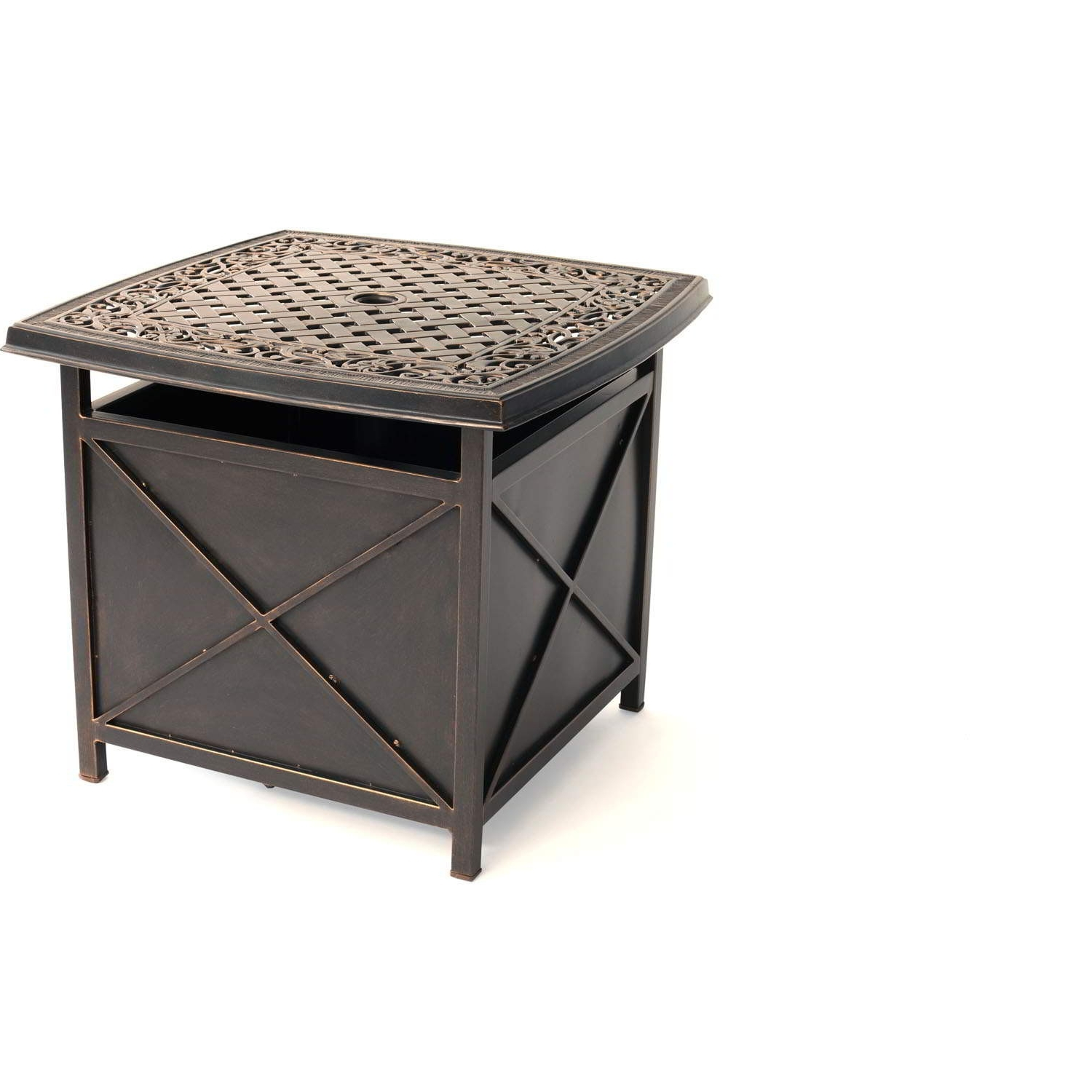 Most Popular 50 Outdoor Umbrella Side Table Pa9Z – Mcnamaralaw With Patio Umbrella Side Tables (View 10 of 20)