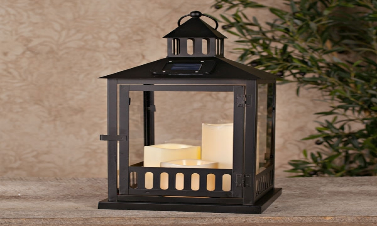 Most Popular Home Decor: Amusing Solar Lanterns With Post Lanterns Outdoor Large In Outdoor Lanterns At Target (View 2 of 20)