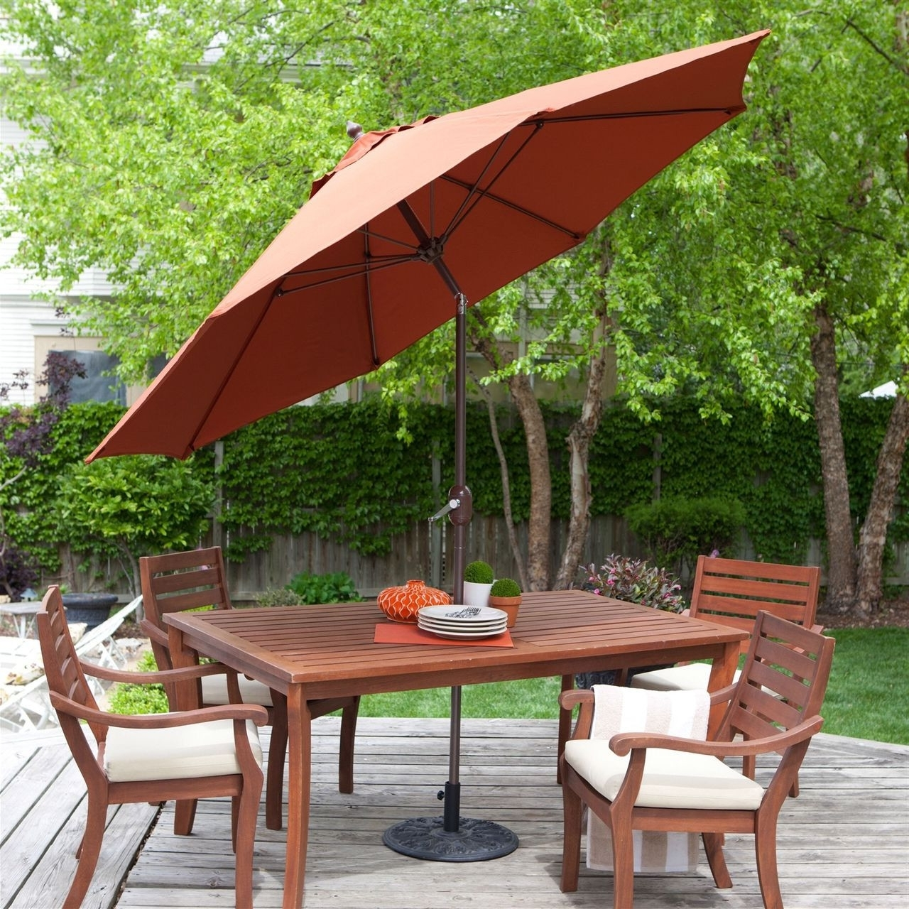 Most Popular How To Clean Patio Umbrella Inspirational 9 Ft Tilt Patio Umbrella Inside 9 Ft Patio Umbrellas (View 12 of 20)