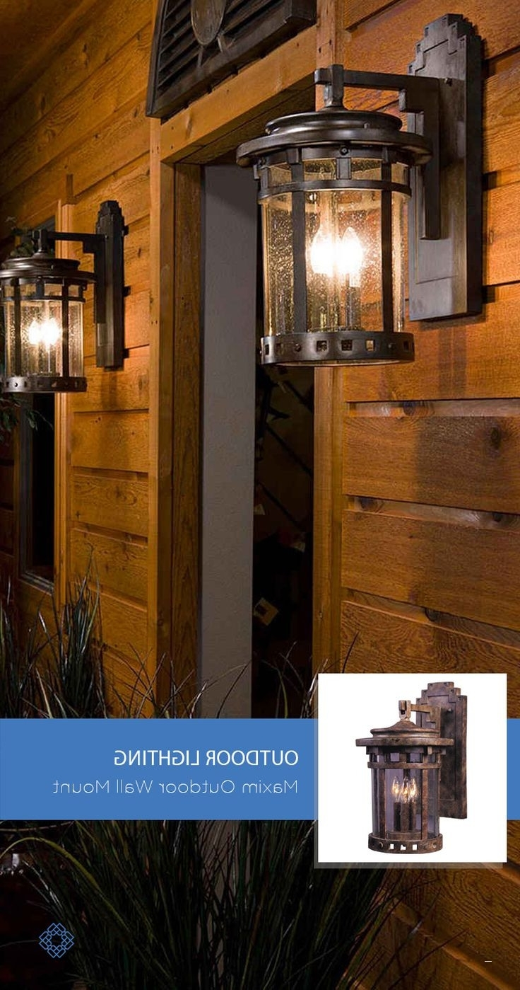 Most Popular Outdoor Lanterns For Garage Within Garage Outdoor Lights Unique 79 Best Outdoor Lighting Images On (View 8 of 20)