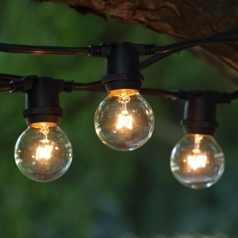 Most Popular Outdoor String Lanterns In Round Outdoor Edison Bulbs : Life On The Move – Style Outdoor Edison (View 10 of 20)