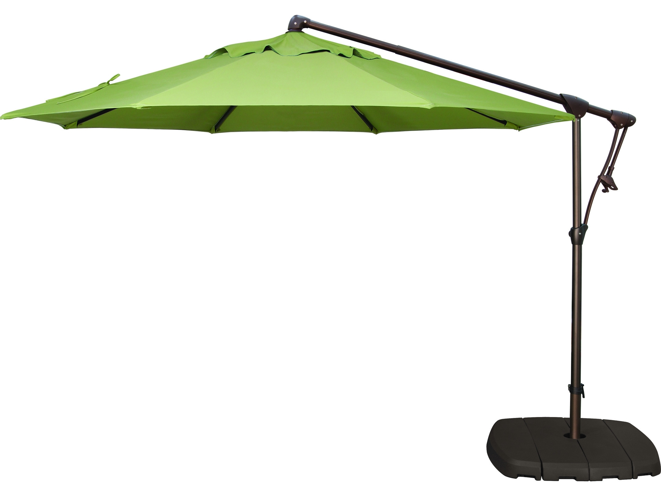 Most Popular Patio Umbrella Base With Wheels Popular Metal Patio Umbrellas With In Patio Umbrellas With Wheels (View 6 of 20)