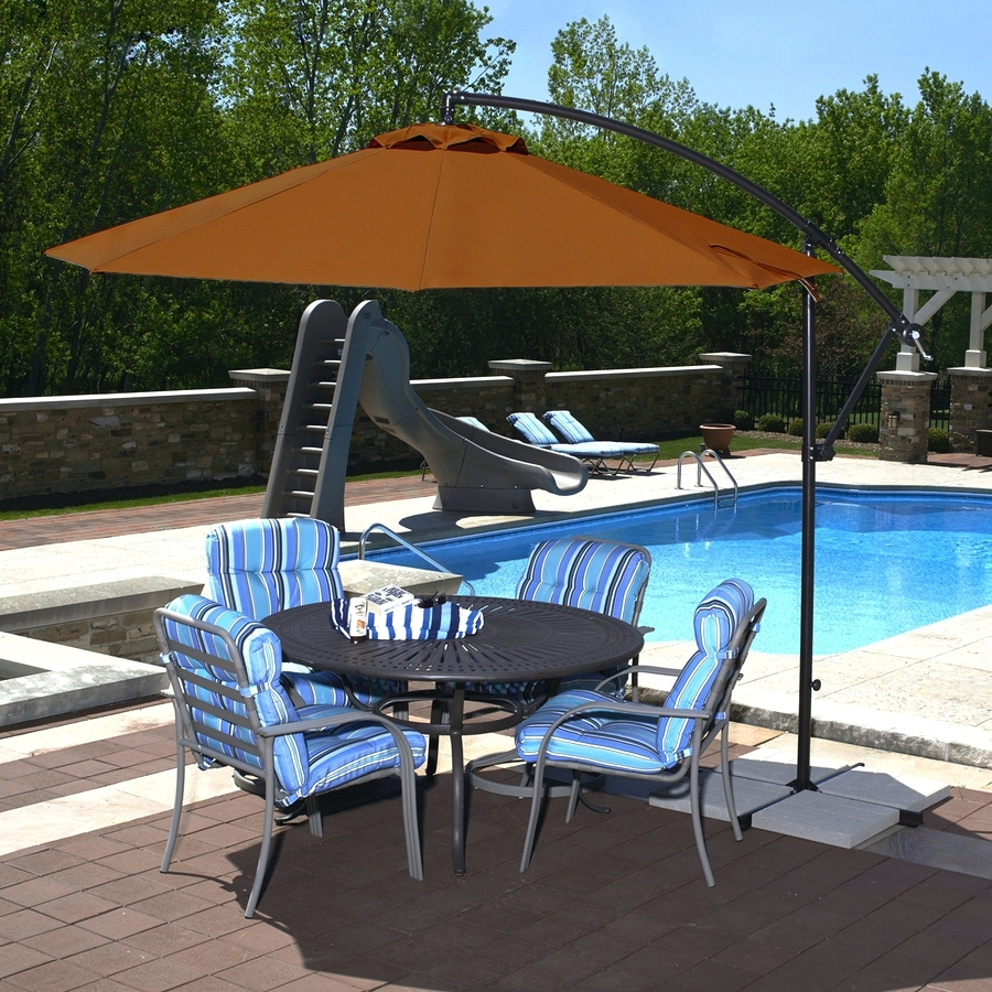 Most Popular Sunbrella Patio Umbrellas At Walmart In Patio Ideas ~ Outdoor Patio Umbrellas Costco Offset Patio Umbrella (View 7 of 20)