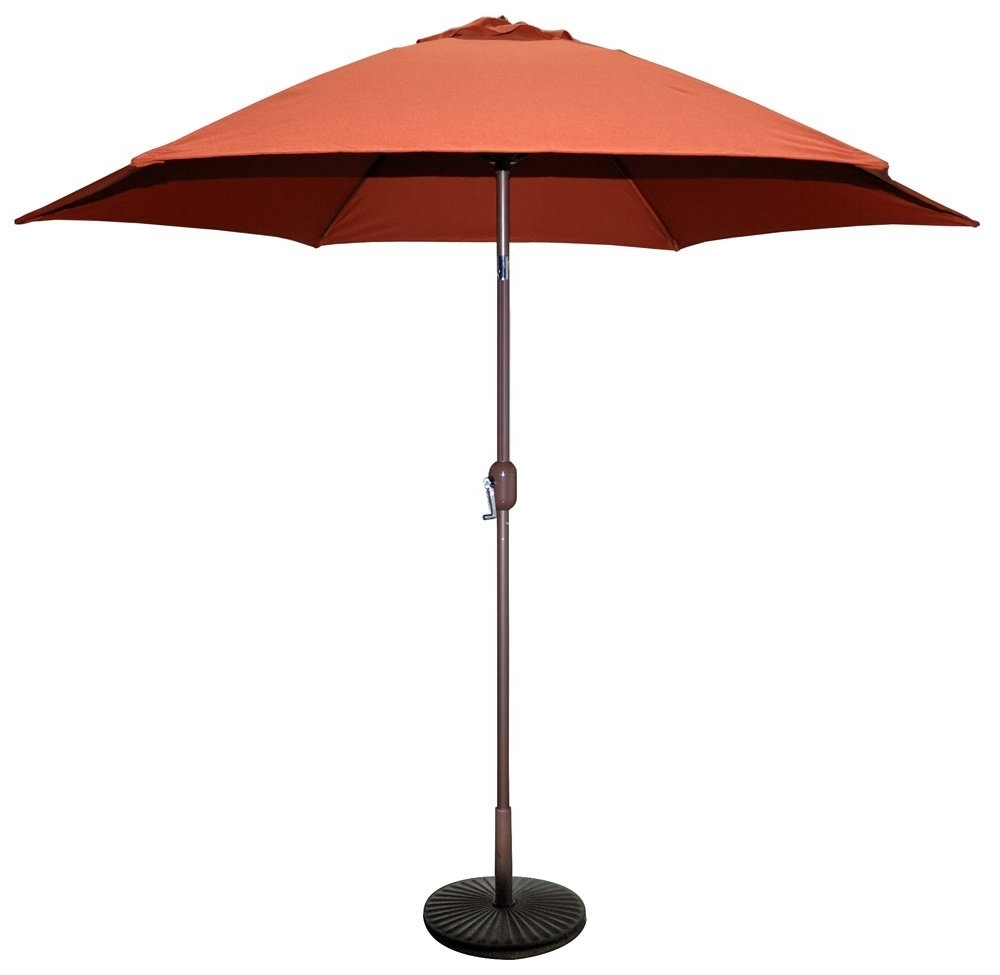 Most Popular The Top 7 Best Patio Umbrellas In 2018 – Reviews And Comparison Regarding Exotic Patio Umbrellas (View 12 of 20)