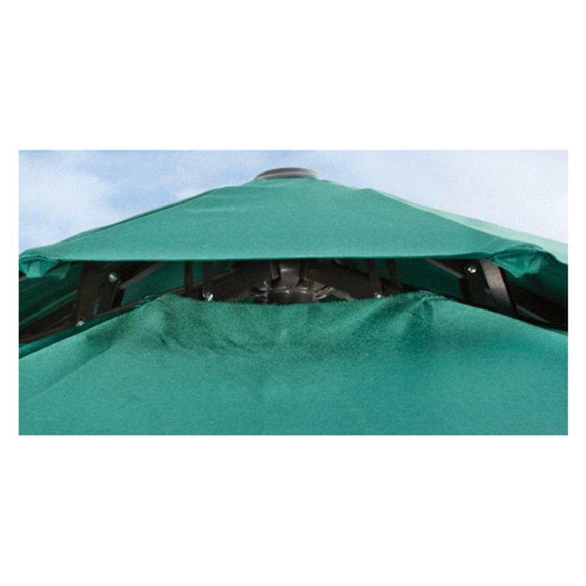 Most Popular Vented Patio Umbrellas Regarding Castlecreek 9' Two Tier Patio Umbrella With Crank – 581840, Patio (View 7 of 20)