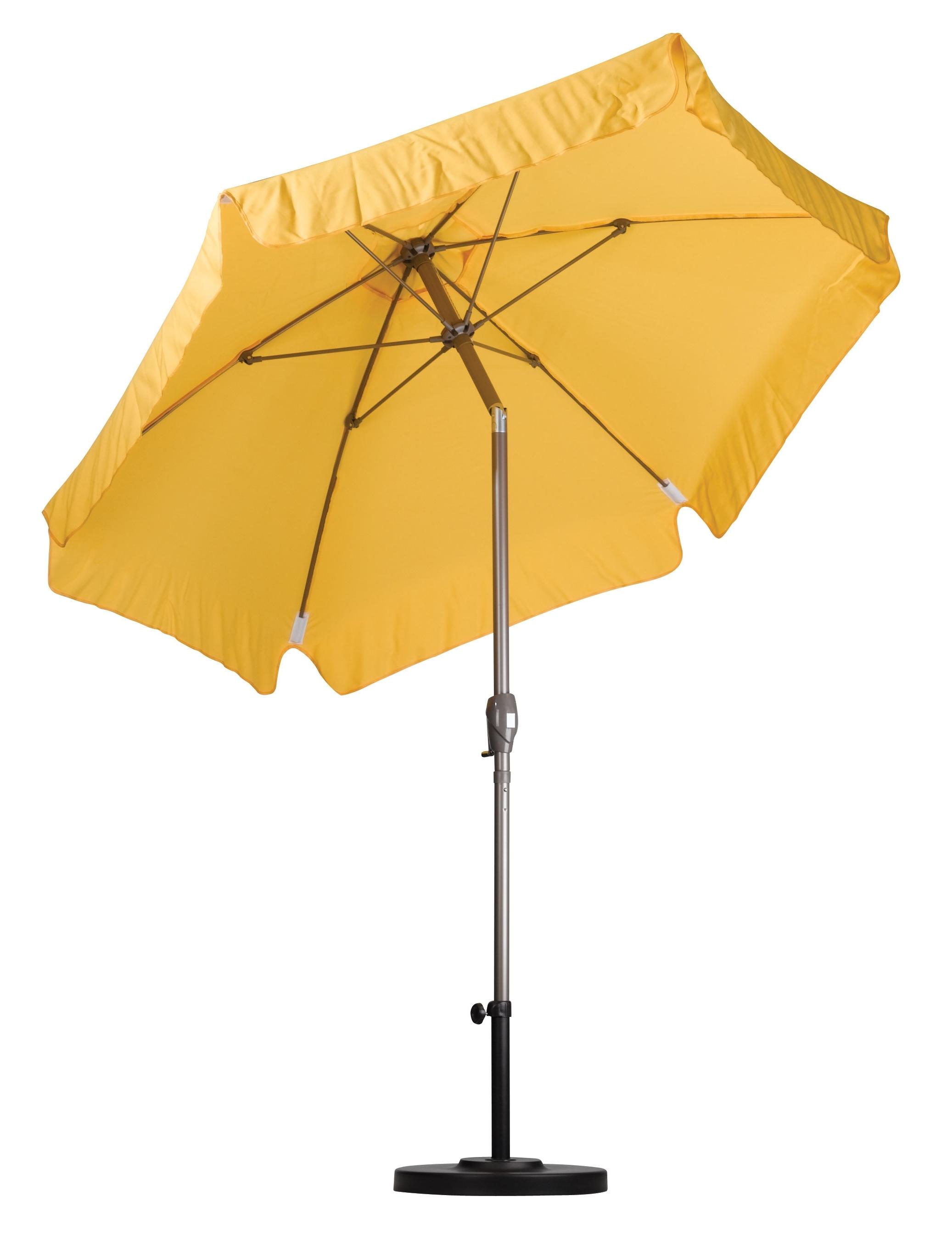 Most Recent Drape Patio Umbrellas With Aluminum  (View 11 of 20)