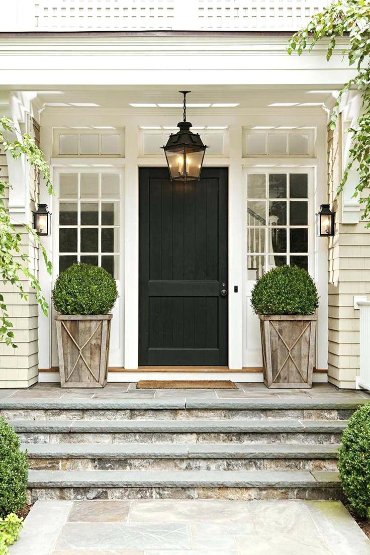 Most Recent Front Doors : Door Design Front Door Ideas Home Door Best 25 Front Within Outdoor Door Lanterns (View 8 of 20)