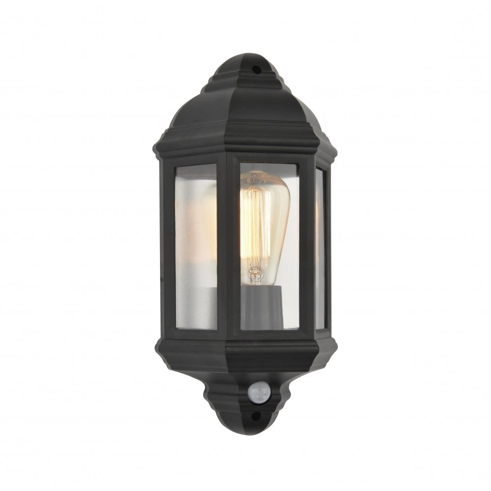 Most Recent Outdoor Lanterns With Pir Inside Forum Lighting Athena Single Light Half Lantern Coastal Outdoor Wall (View 7 of 20)
