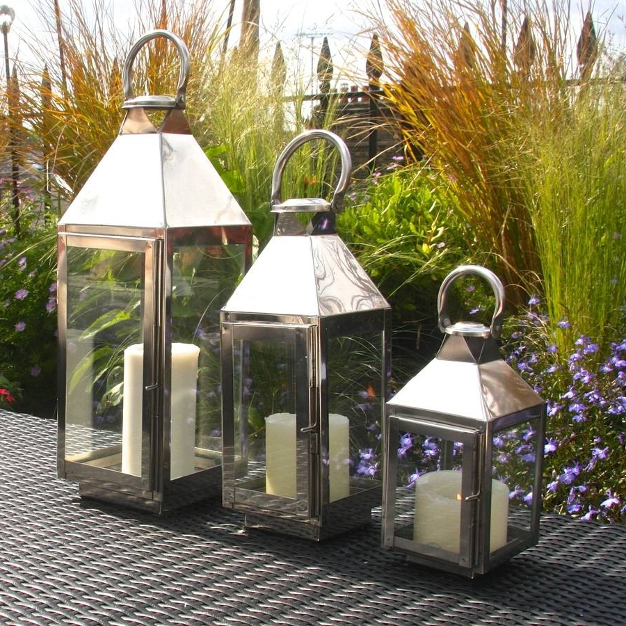 Most Recent Outdoor Storm Lanterns With Regard To St Mawes Hurricane Garden Lanternlondon Garden Trading (View 12 of 20)