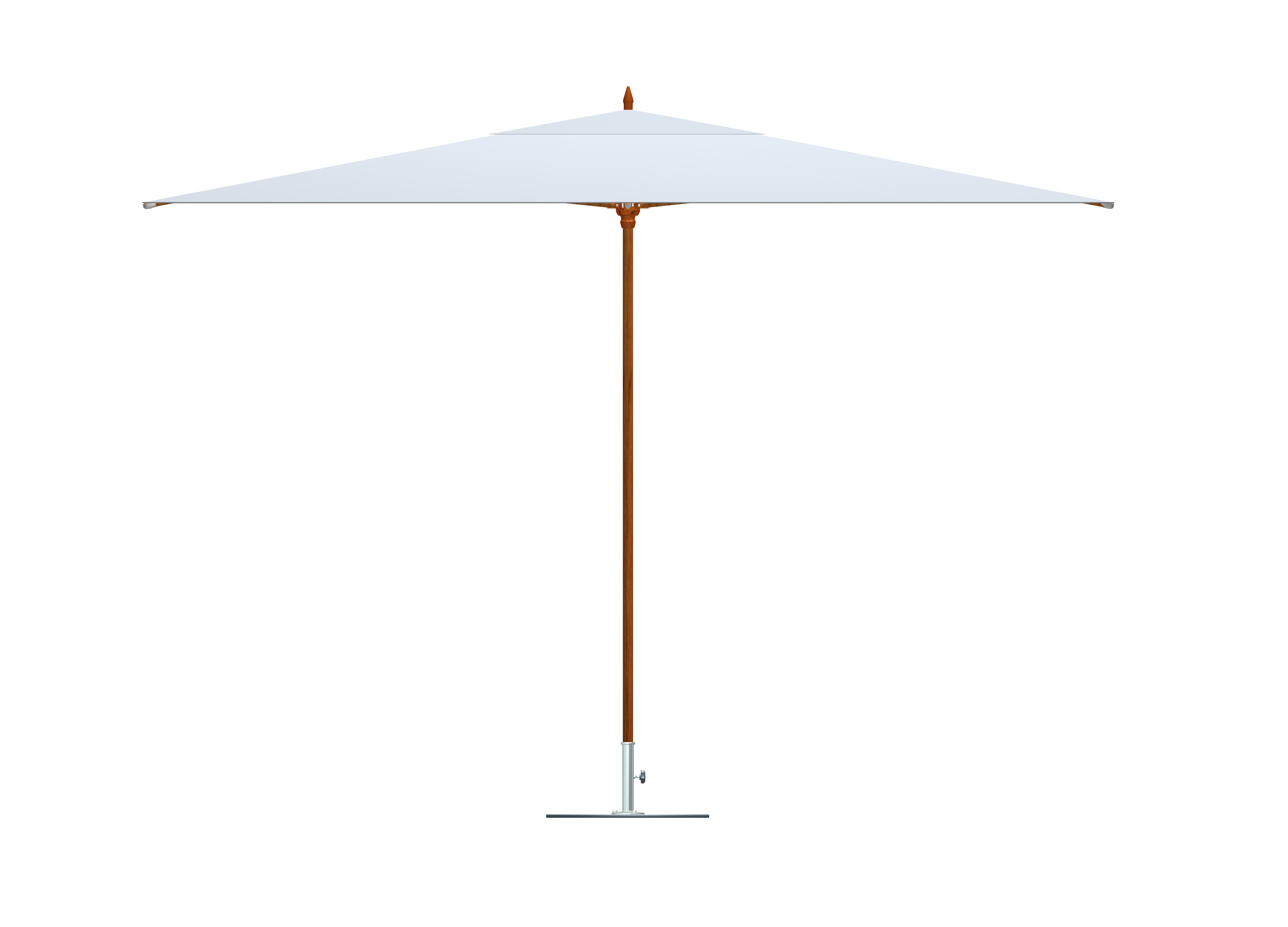 Most Recent Outdoor Umbrellas And Bases – Tuuci Floor Sample Sale – Bluesky With White Patio Umbrellas (View 7 of 20)